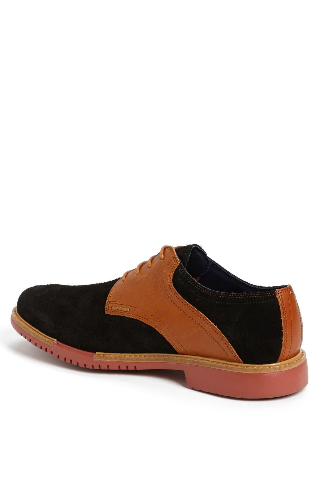 COLE HAAN, 'Great Jones' Saddle Shoe, Alternate thumbnail 4, color, 001