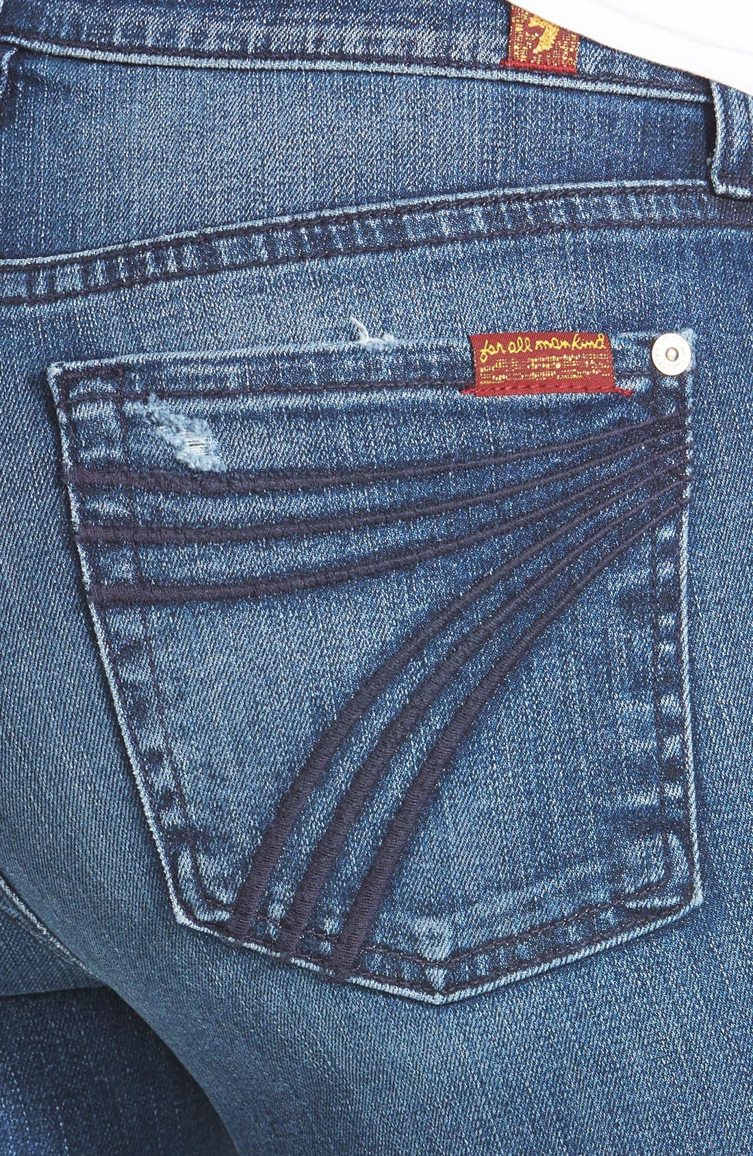 7 FOR ALL MANKIND<SUP>®</SUP>, b(air) Dojo Trouser Jeans, Alternate thumbnail 10, color, 472