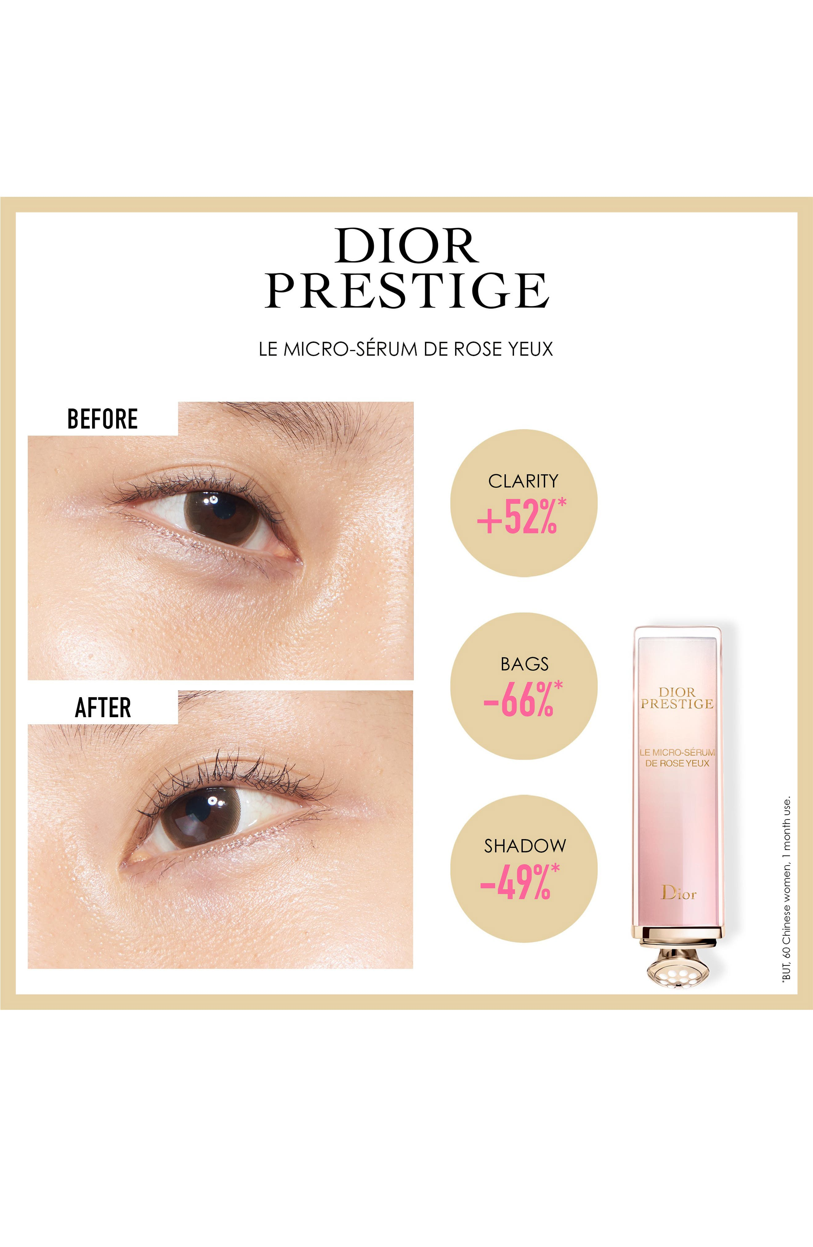 DIOR, Prestige Illuminating Micro-Nutritive Eye Serum, Alternate thumbnail 3, color, NO COLOR