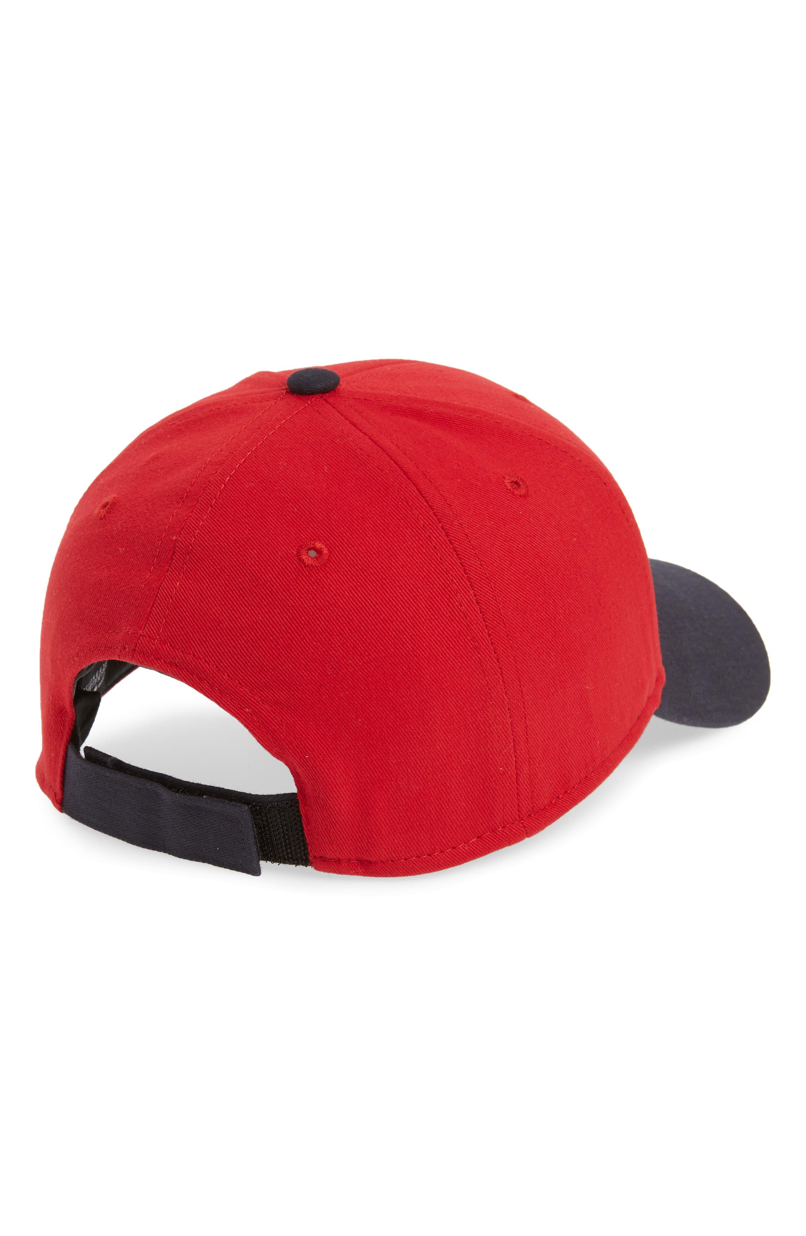 '47, Short Stack Boston Red Sox Baseball Cap, Alternate thumbnail 2, color, RED