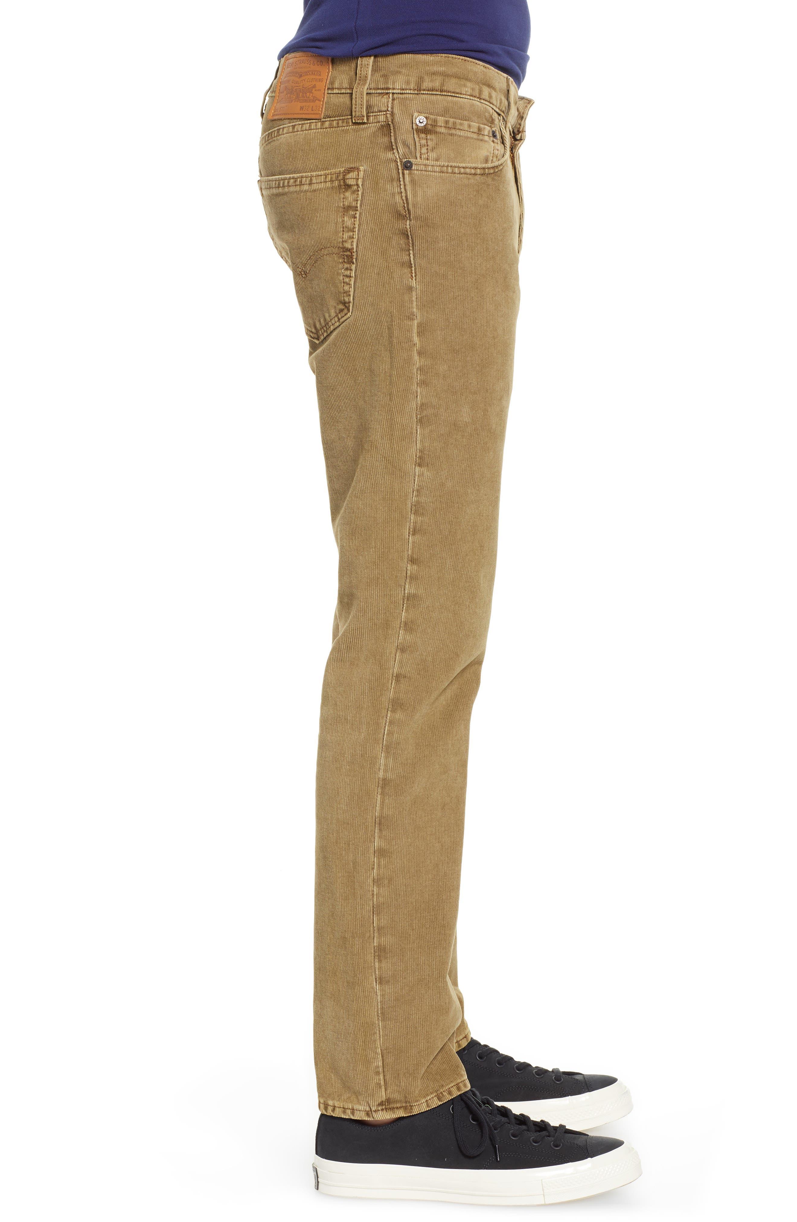 LEVI'S<SUP>®</SUP>, 511<sup>™</sup> Slim Fit Corduroy Pants, Alternate thumbnail 4, color, 240