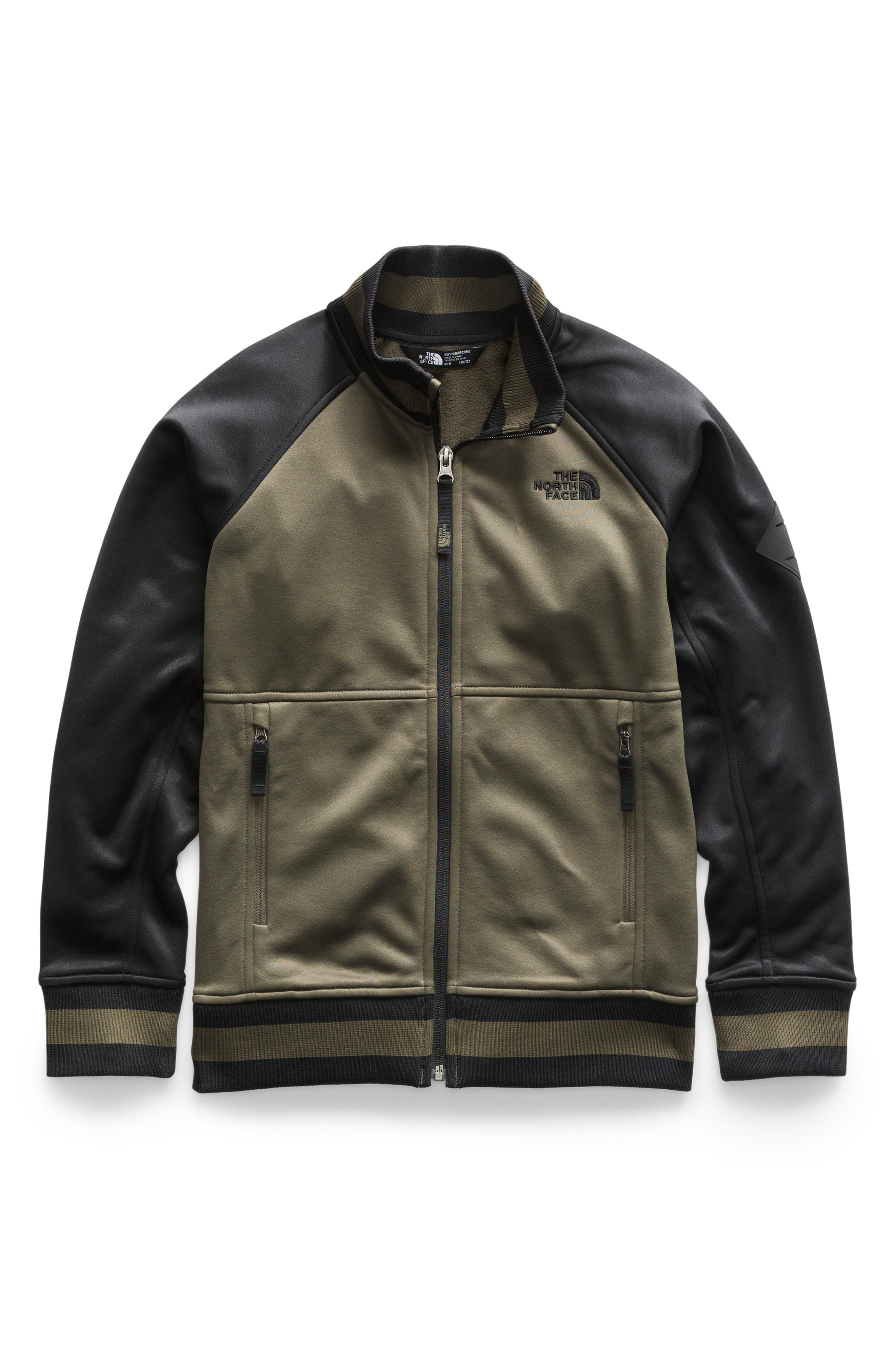 THE NORTH FACE Takeback Track Jacket, Main, color, NEW TAUPE GREEN
