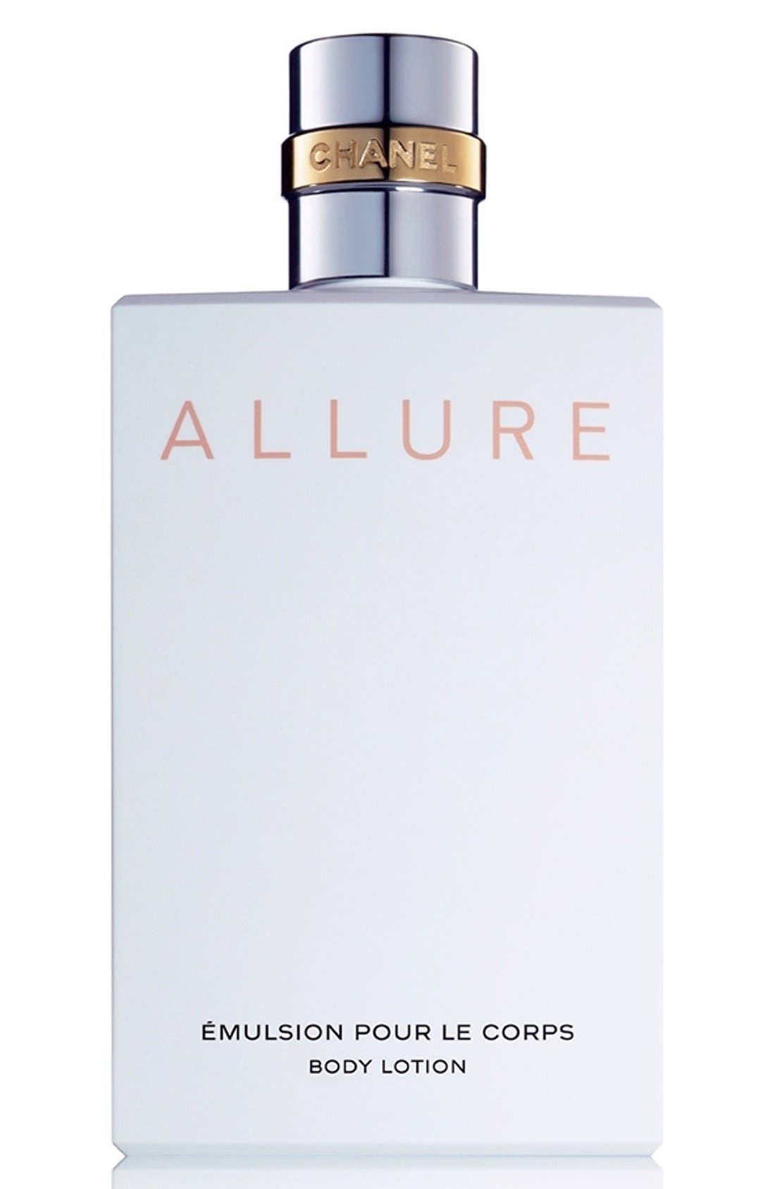 CHANEL, ALLURE<br />Body Lotion, Main thumbnail 1, color, 001