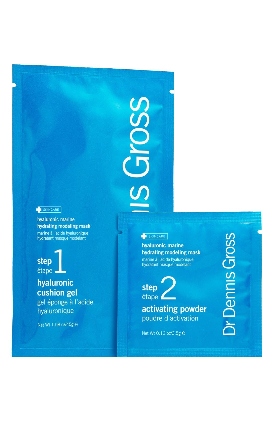 DR. DENNIS GROSS SKINCARE, Hyaluronic Marine Hydrating Modeling Mask System, Main thumbnail 1, color, NO COLOR