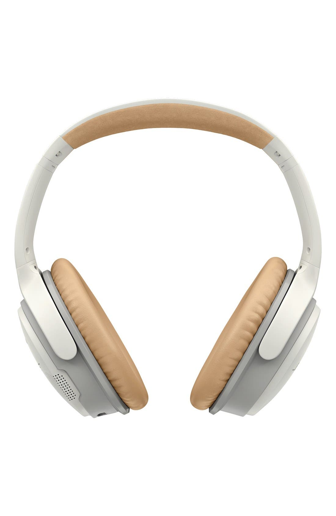 BOSE<SUP>®</SUP>, SoundLink<sup>®</sup> II Around-Ear Bluetooth<sup>®</sup> Headphones, Alternate thumbnail 4, color, WHITE