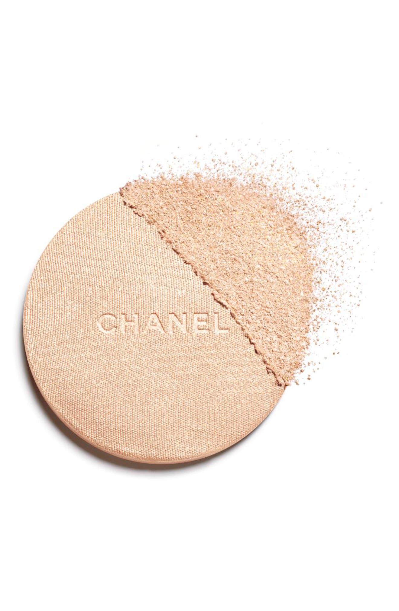 CHANEL, HIGHLIGHTING<br />Powder Compact, Alternate thumbnail 2, color, 10 IVORY GOLD