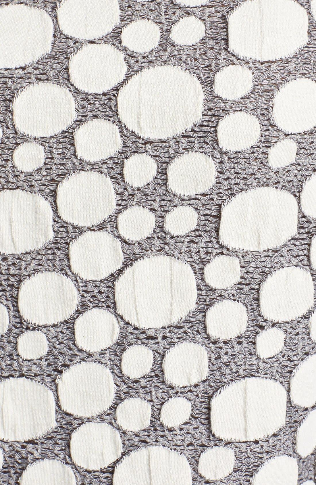 OLIVIA MOON, Textured Sweatshirt, Alternate thumbnail 2, color, 031