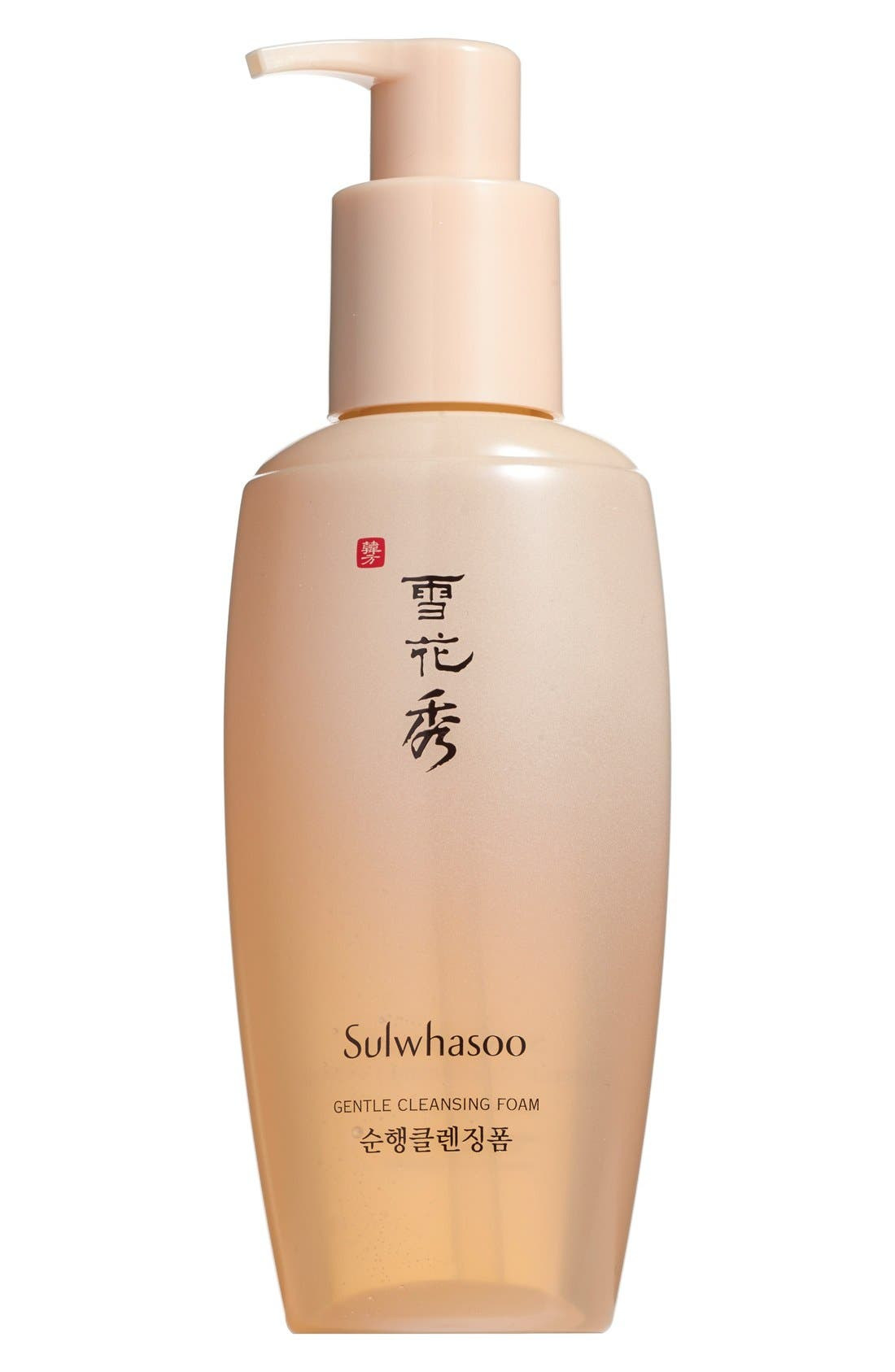 SULWHASOO Gentle Cleansing Foam EX, Main, color, NO COLOR