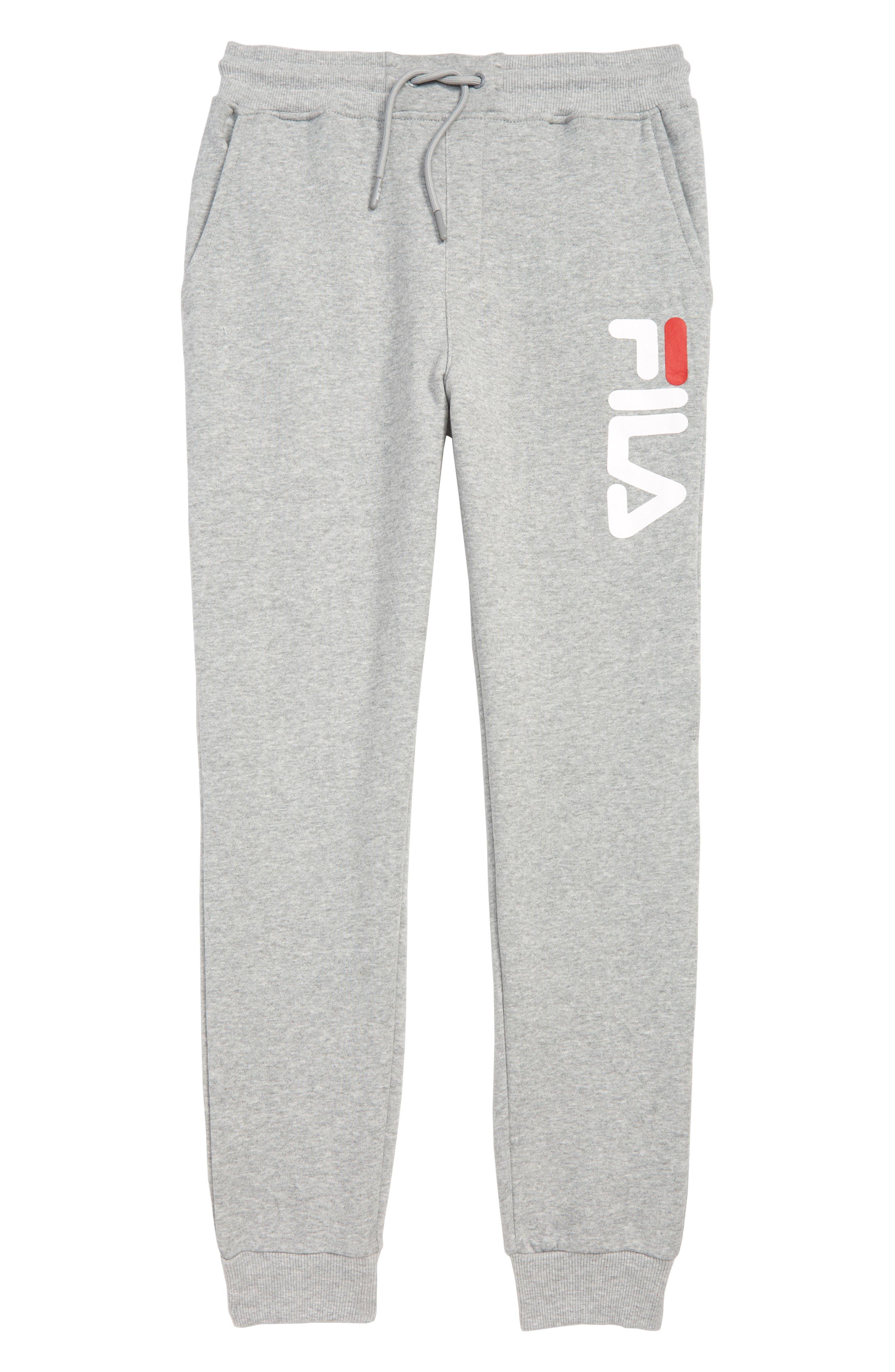 FILA Classic Jogger Pants, Main, color, GREY HEATHER