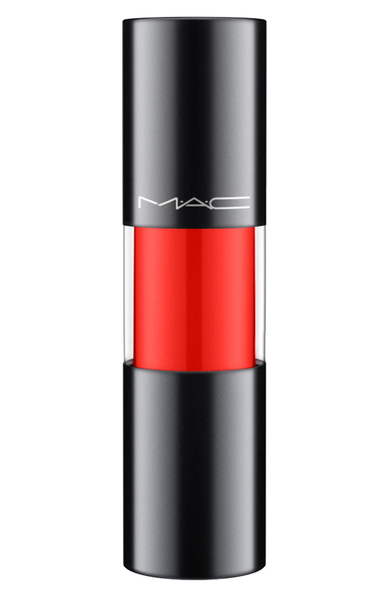 MAC COSMETICS, MAC Versicolor Varnish Cream Lip Stain, Alternate thumbnail 4, color, TO THE EXTREME
