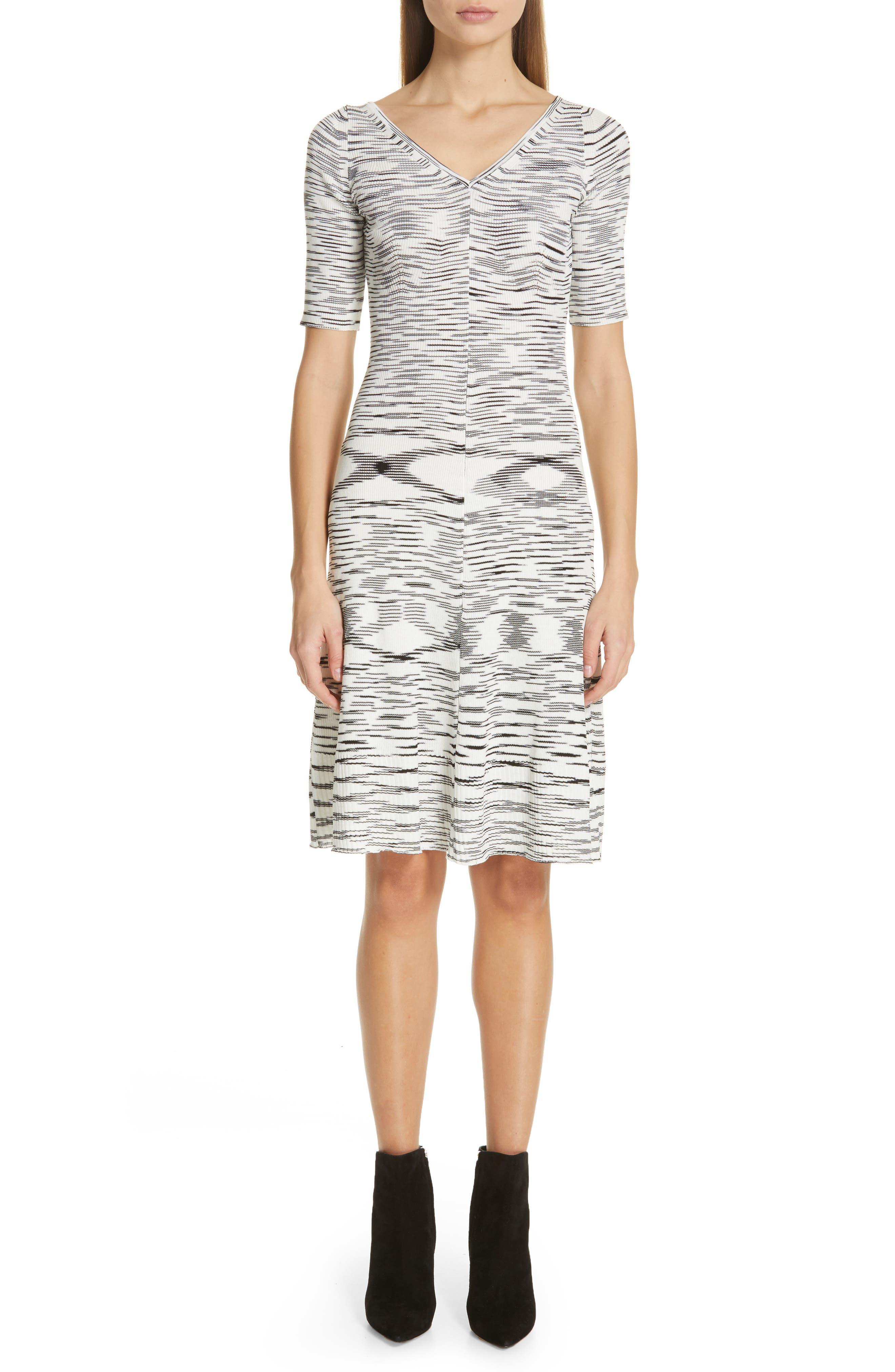 Missoni Micro Rib Knit Dress, US / 44 IT - Black