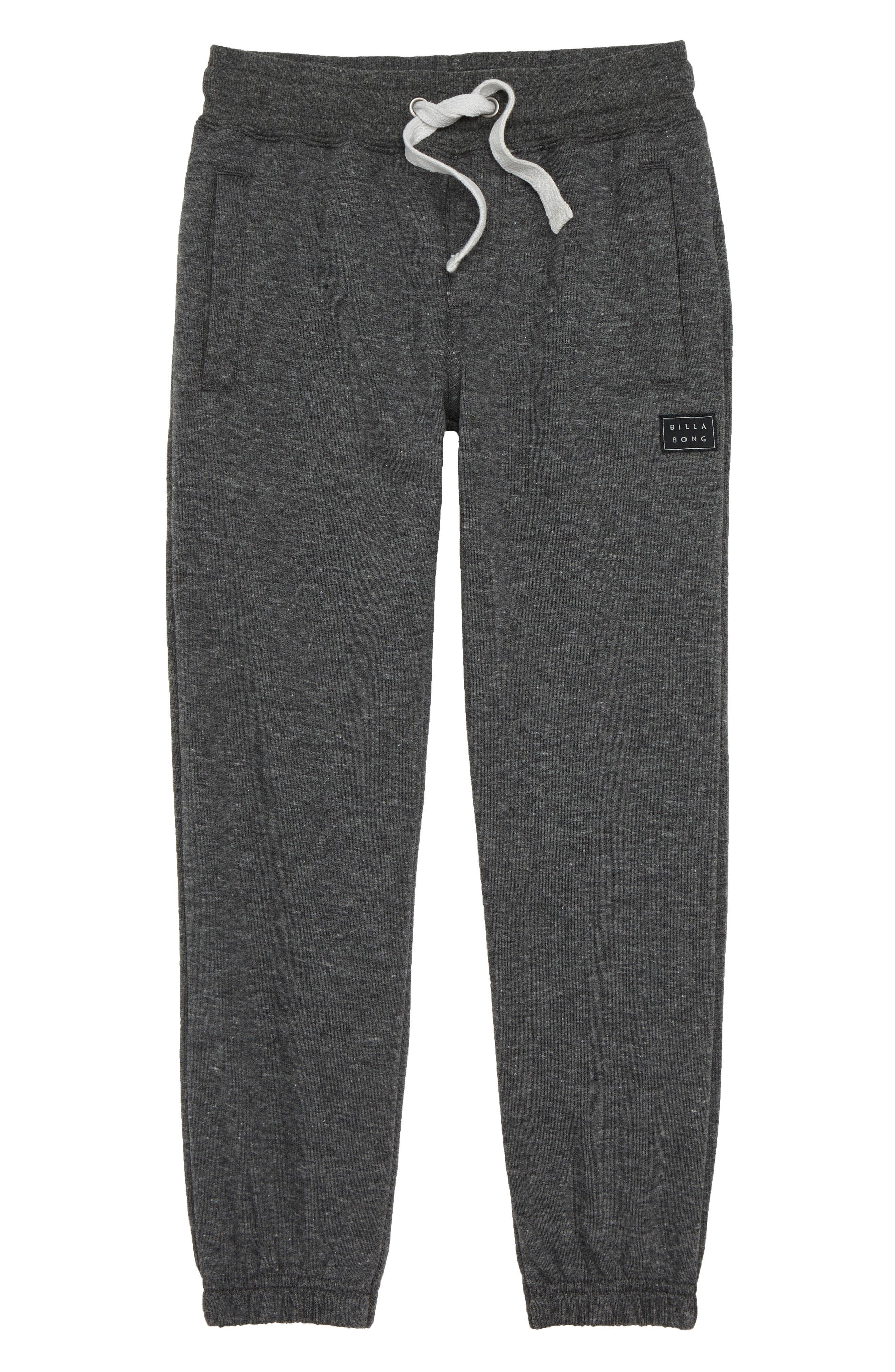 Boys Billabong All Day Sweatpants Size L (1416)  Black