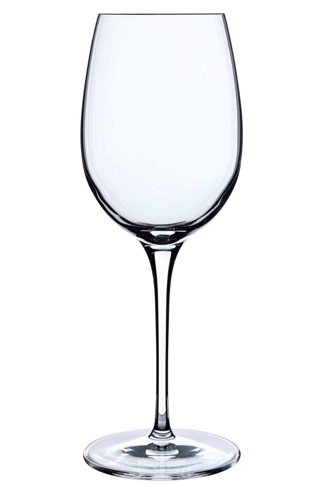 LUIGI BORMIOLI Crescendo Set of 4 Chardonnay Glasses, Main, color, 000