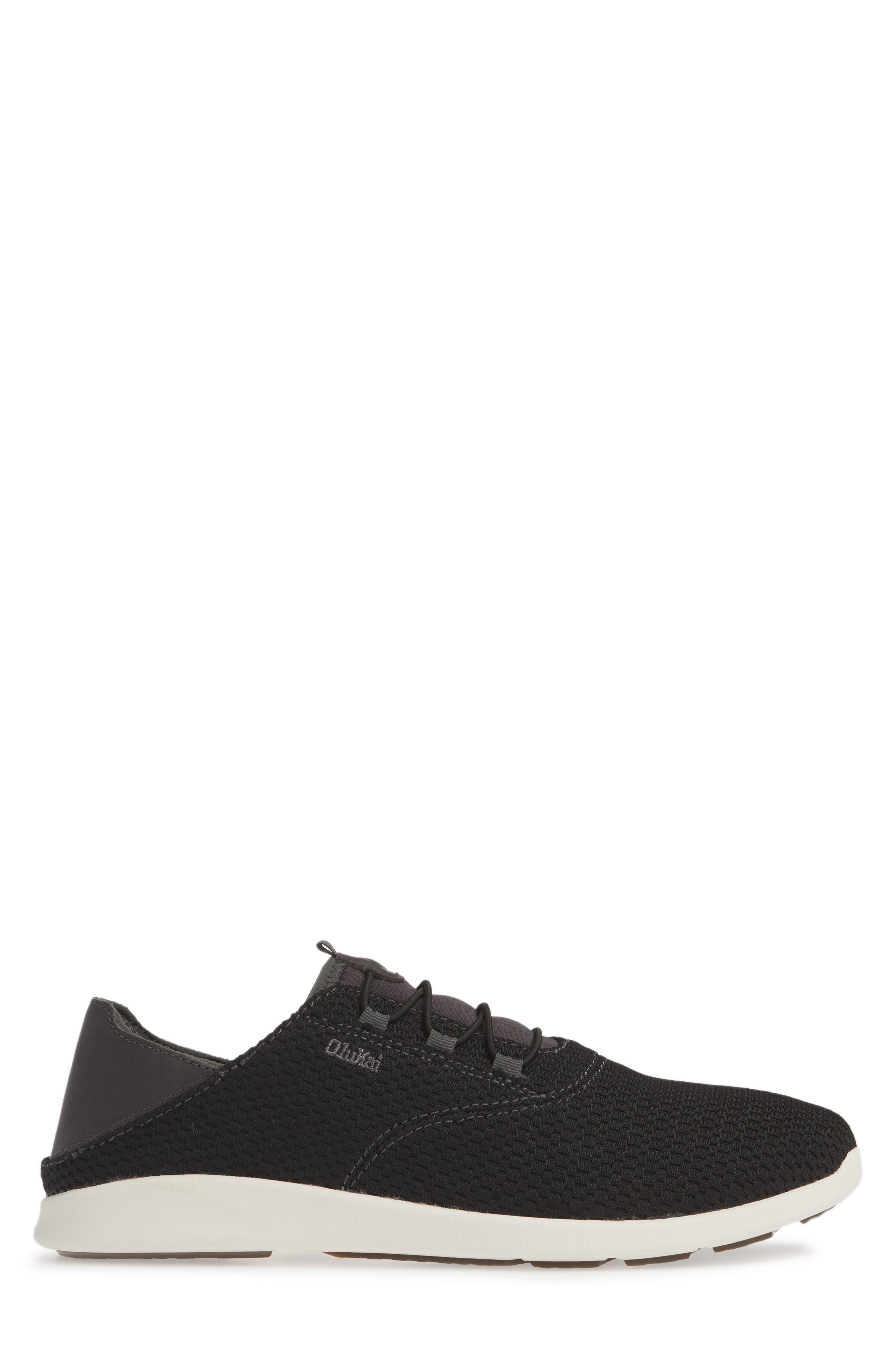 OLUKAI, Alapa Li Sneaker, Alternate thumbnail 2, color, BLACK/ DARK SHADOW MESH