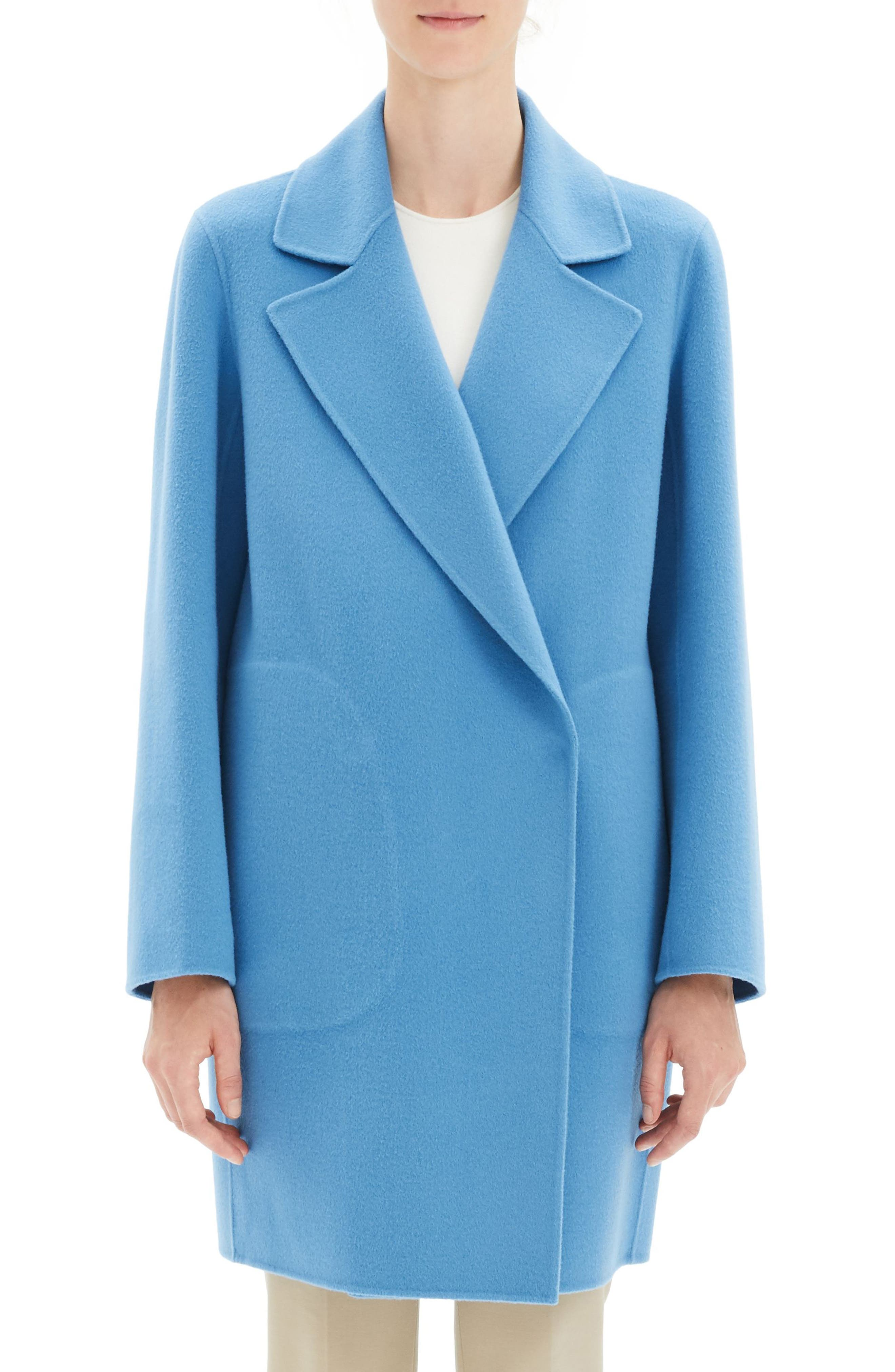THEORY Wool & Cashmere Boy Coat, Main, color, 488