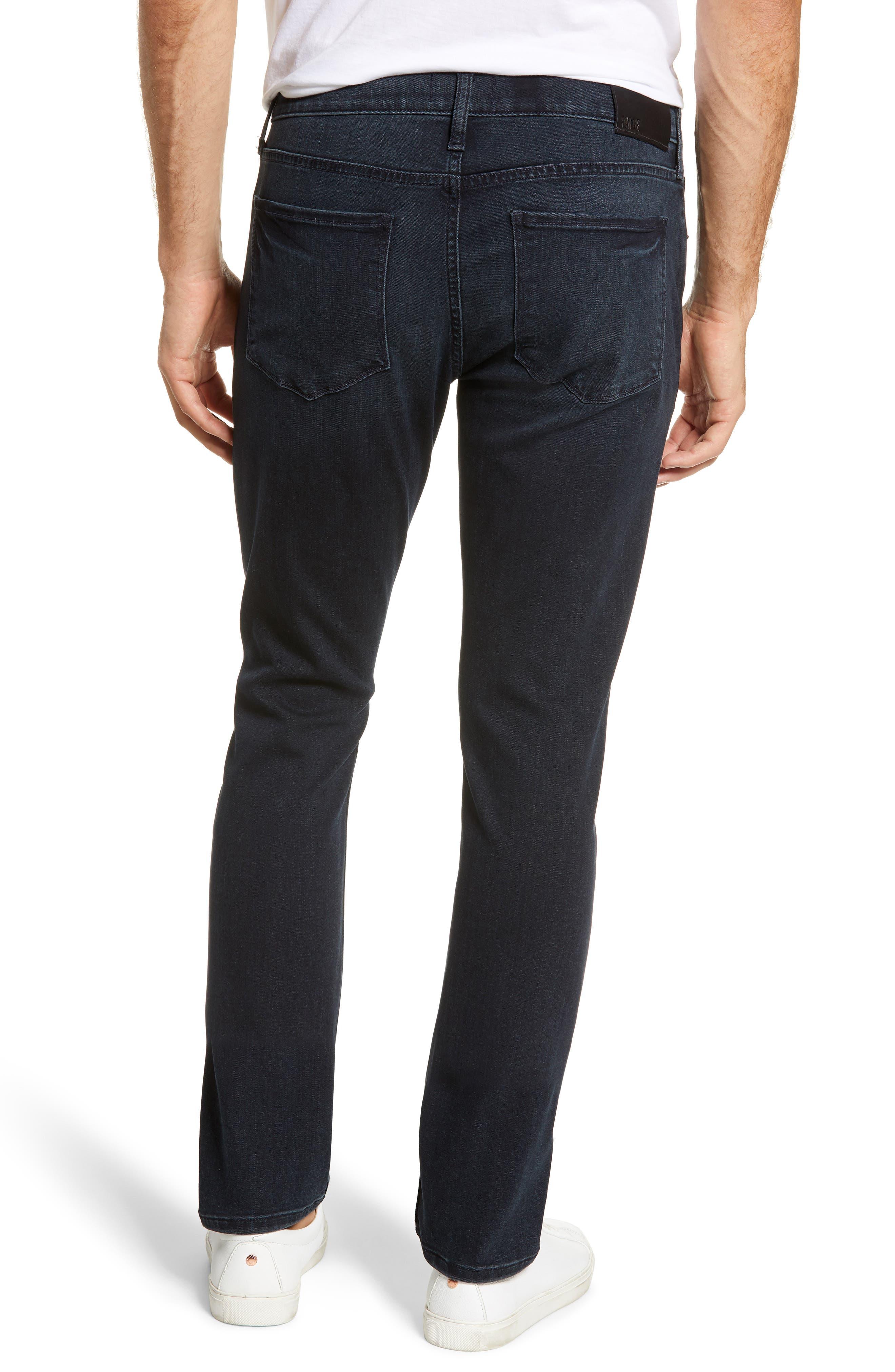PAIGE, Transcend - Lennox Slim Fit Jeans, Alternate thumbnail 2, color, HOLLAND