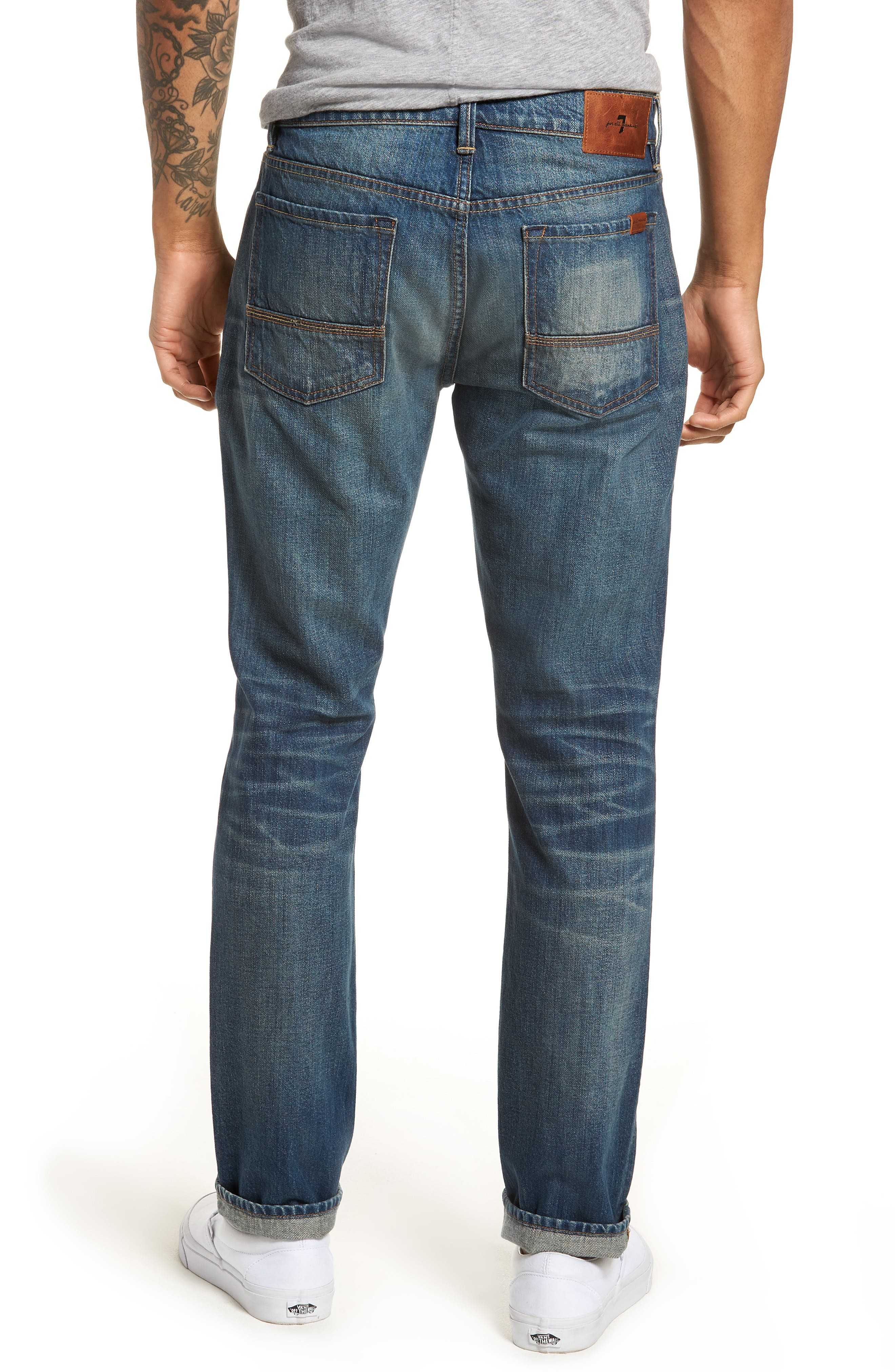 7 FOR ALL MANKIND<SUP>®</SUP>, Adrien Slim Fit Jeans, Alternate thumbnail 2, color, LEGEND