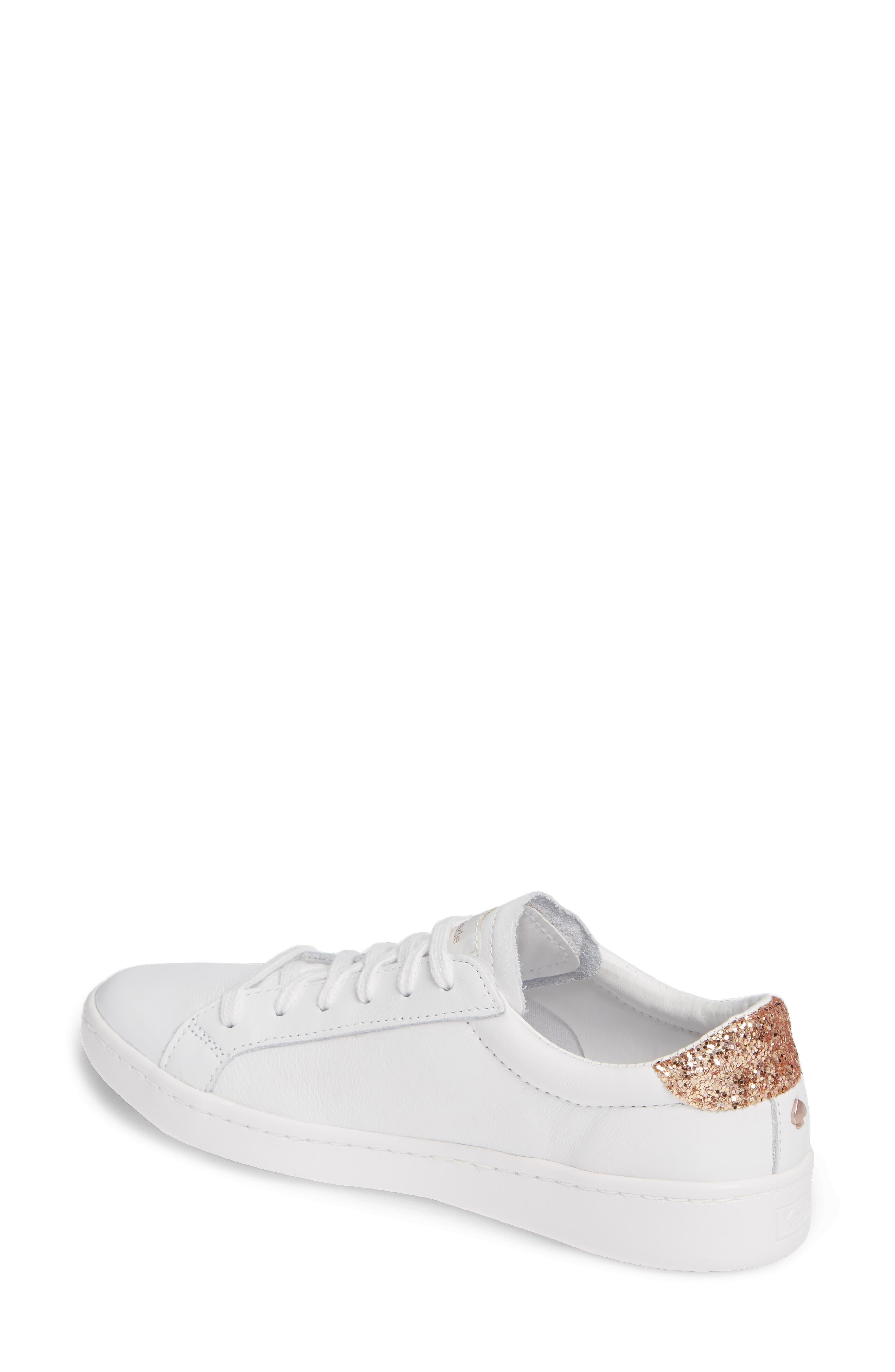 KEDS<SUP>®</SUP> FOR KATE SPADE NEW YORK, ace glitter sneaker, Alternate thumbnail 2, color, 100