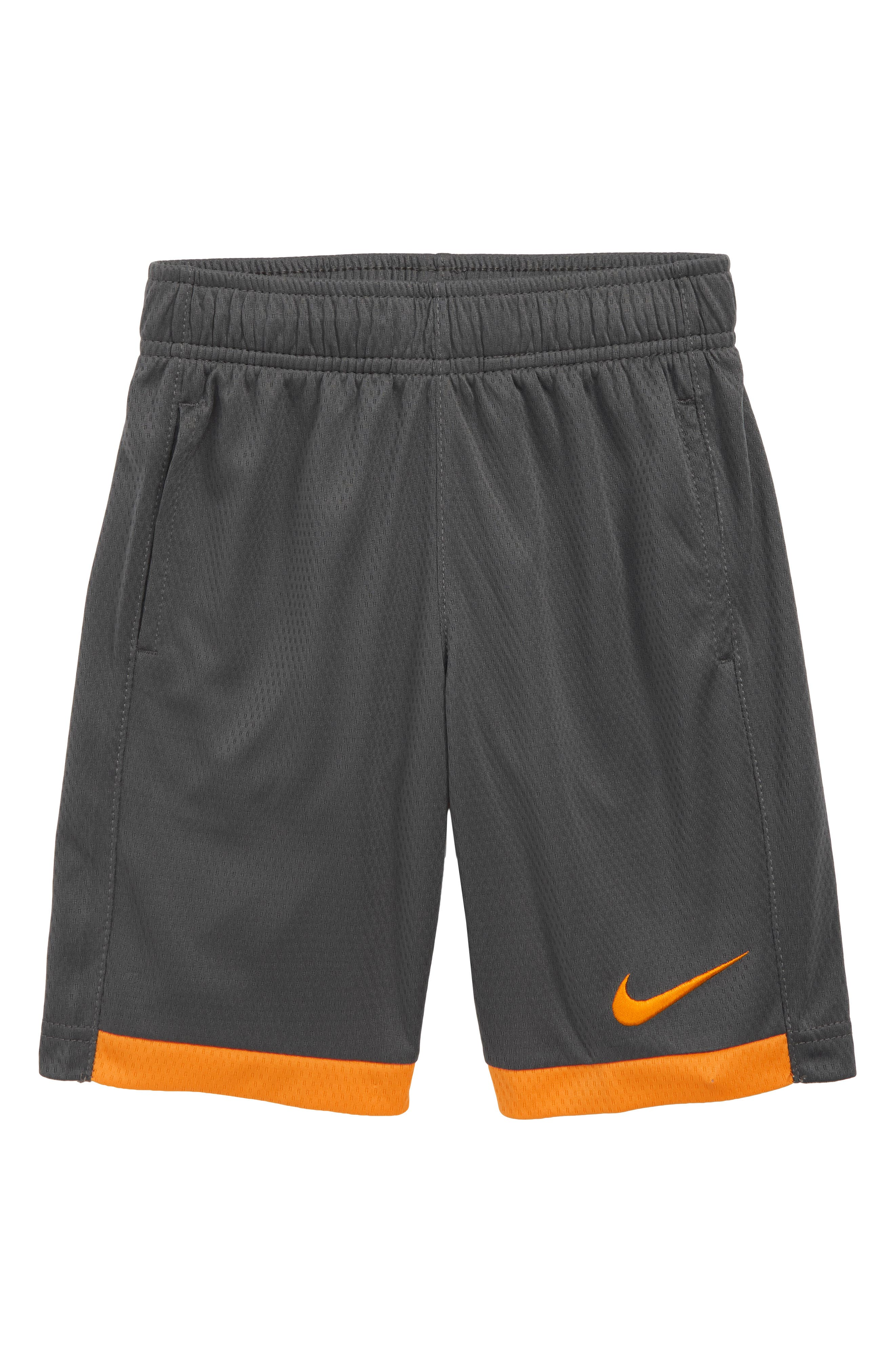 Boys Nike Dry Trophy Shorts Size 6  Grey