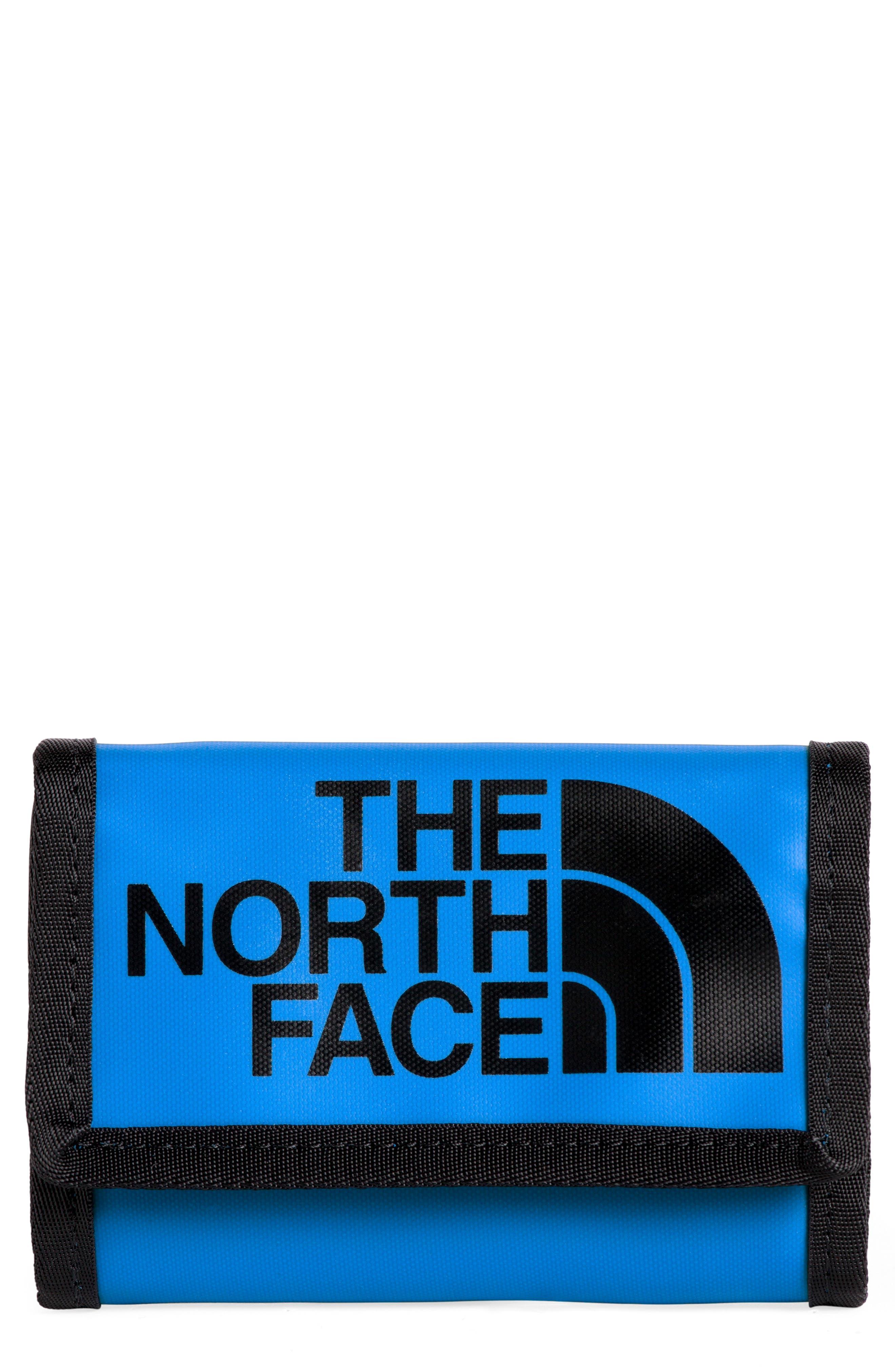 THE NORTH FACE, Base Camp Wallet, Main thumbnail 1, color, BOMBER BLU