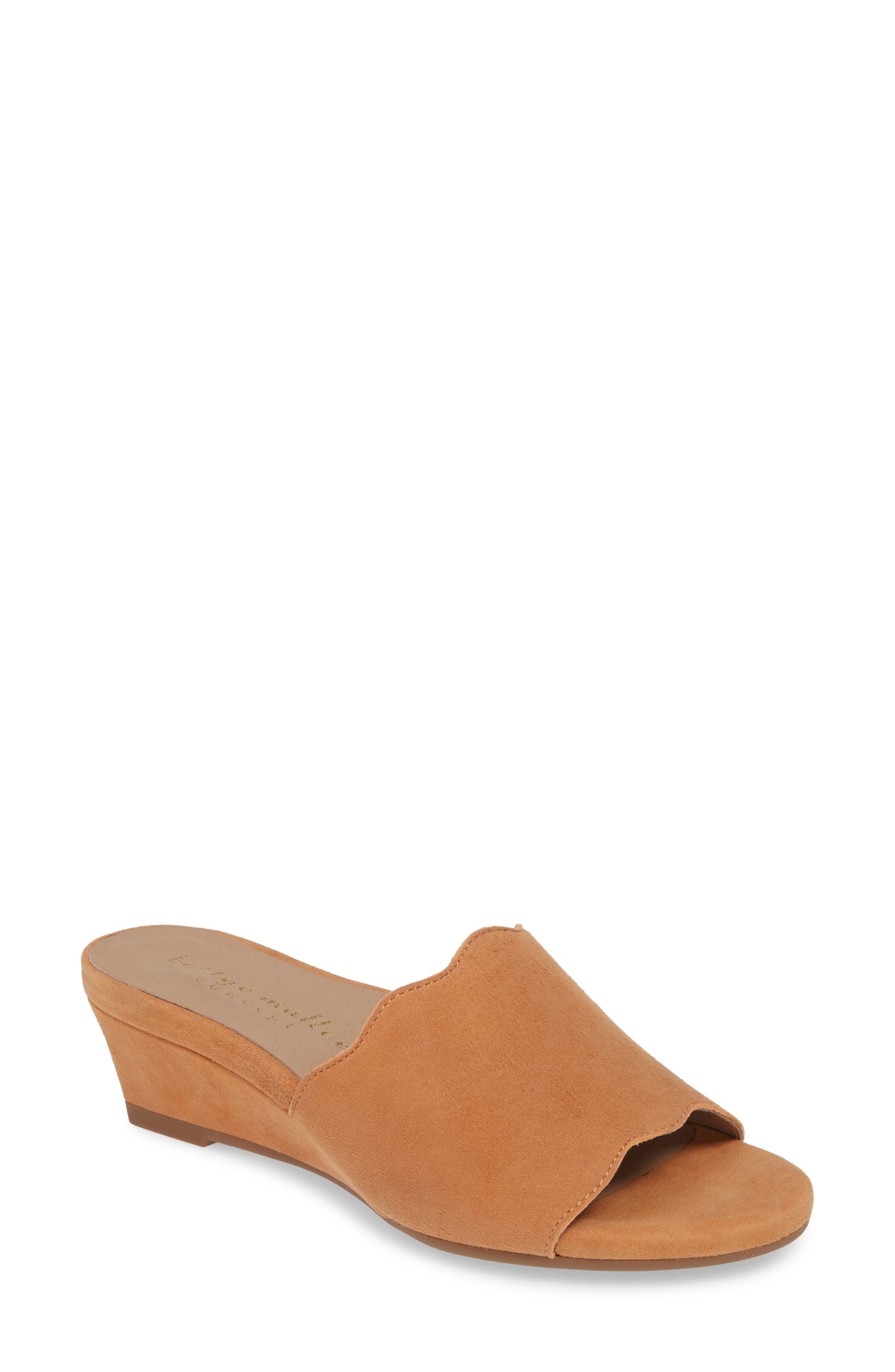 Bettye Muller Concepts Seema Slide Sandal, Orange