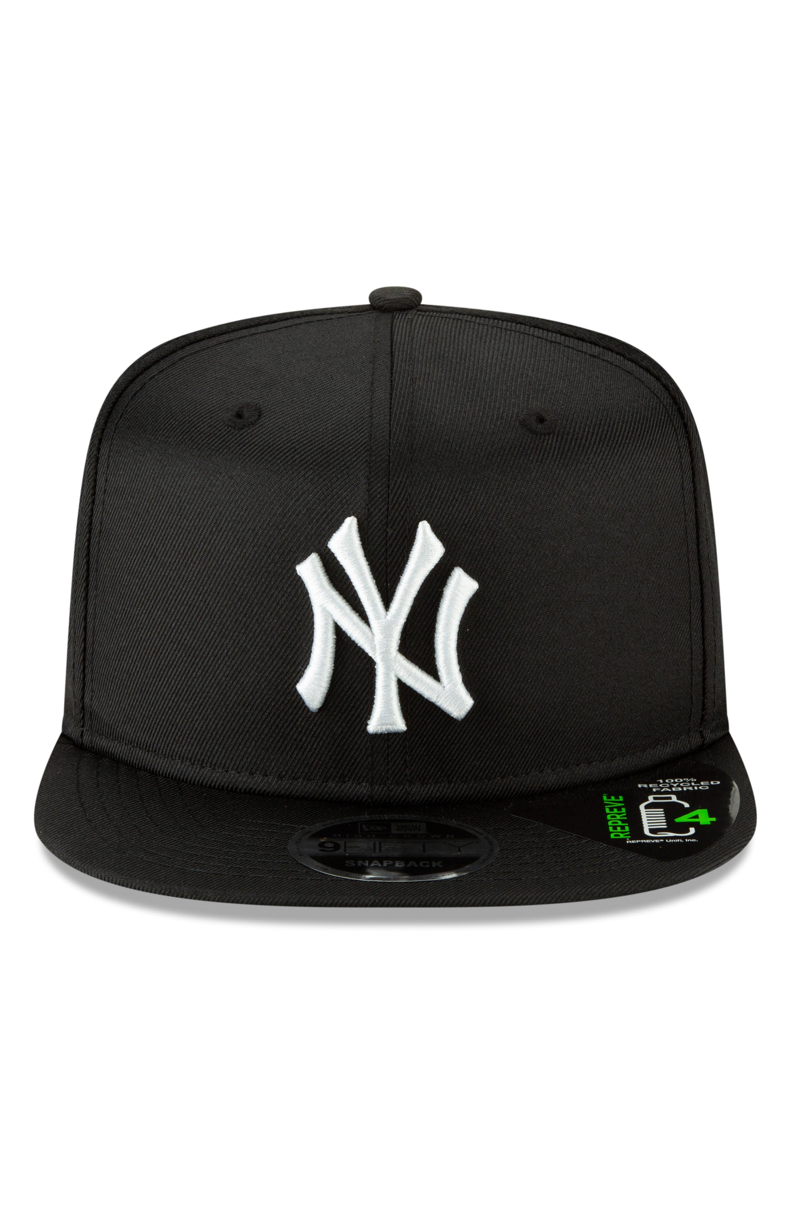NEW ERA CAP, High Crown 9FIFTY Baseball Cap, Alternate thumbnail 2, color, YANKEES