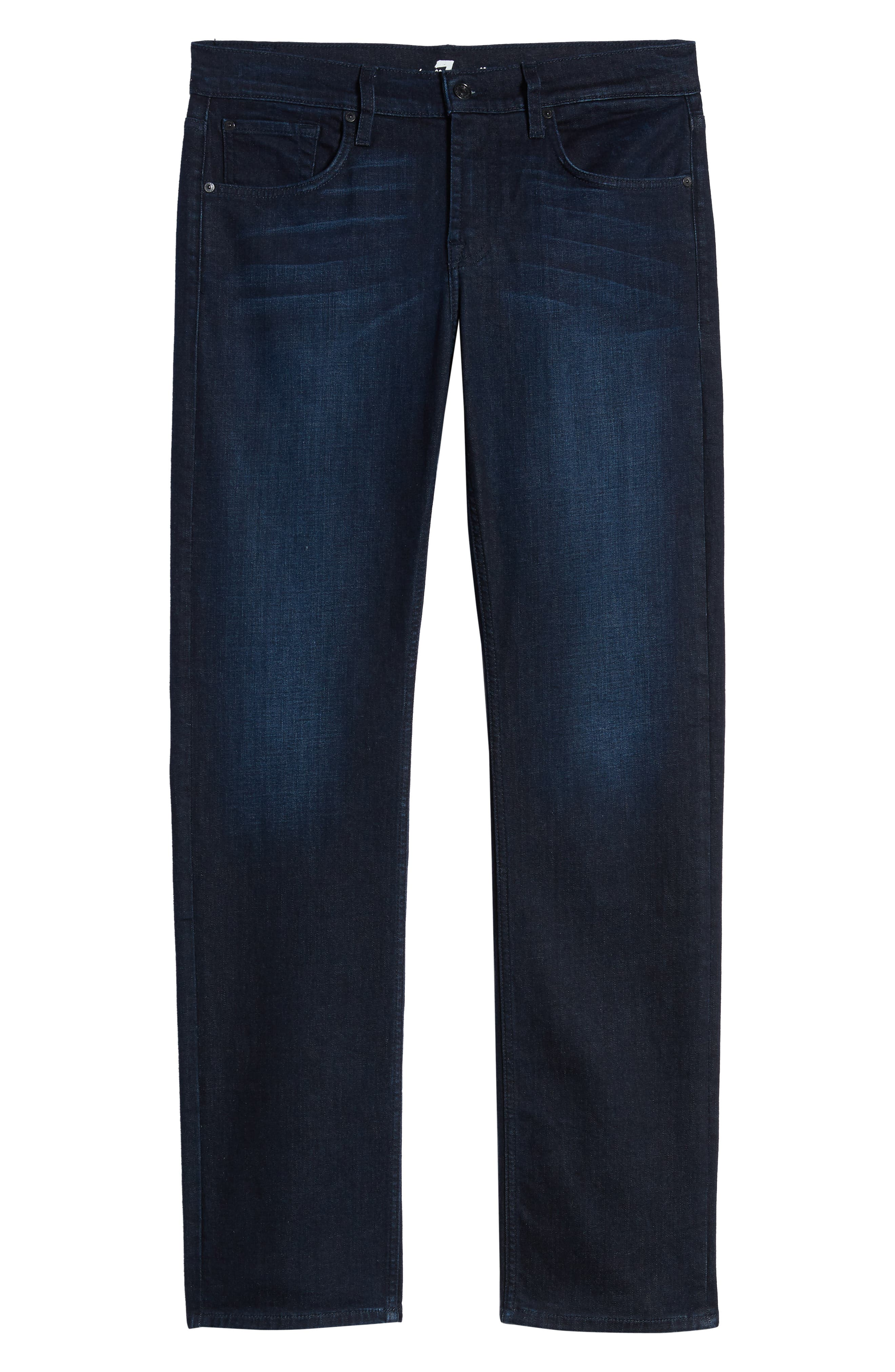 7 FOR ALL MANKIND<SUP>®</SUP>, Carson Straight Fit Jeans, Alternate thumbnail 7, color, RICHFIELD