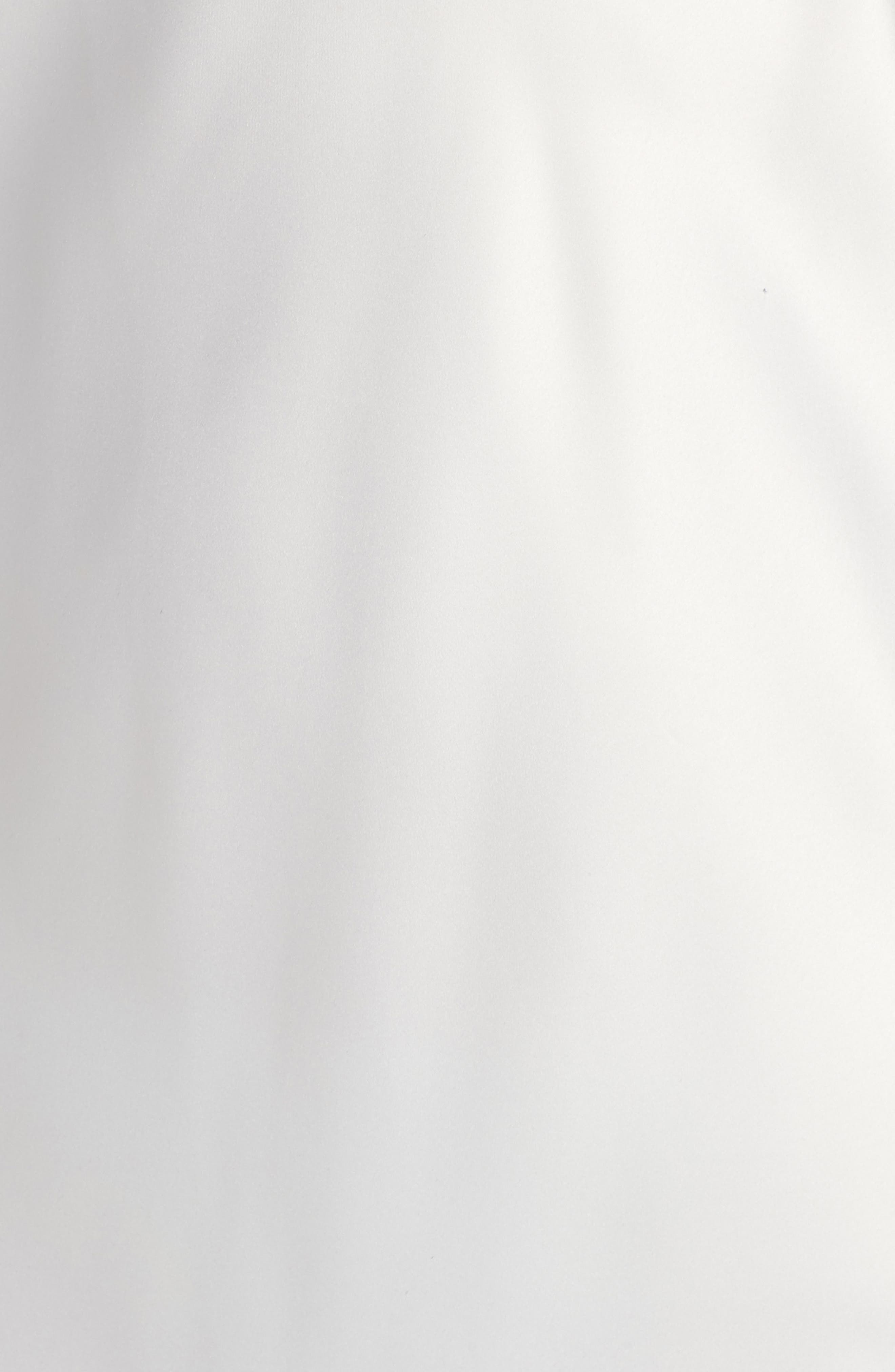 NATORI, Feather Lace Trim Chemise, Alternate thumbnail 5, color, WARM WHITE