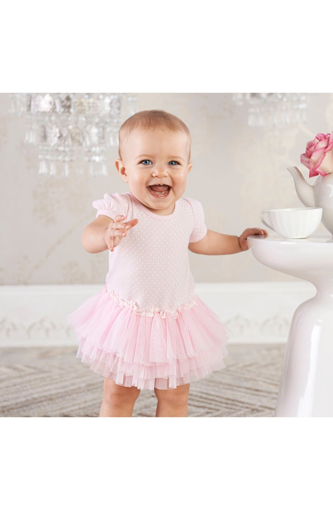 BABY ASPEN, Little Princess 3-Piece Gift Set, Alternate thumbnail 2, color, PINK