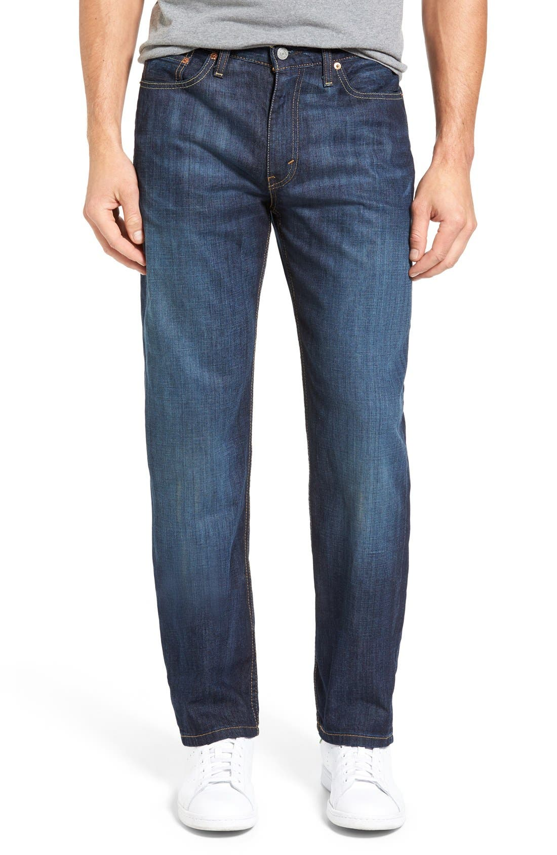 LEVI'S<SUP>®</SUP>, 514<sup>™</sup> Straight Leg Jeans, Main thumbnail 1, color, SHOESTRING