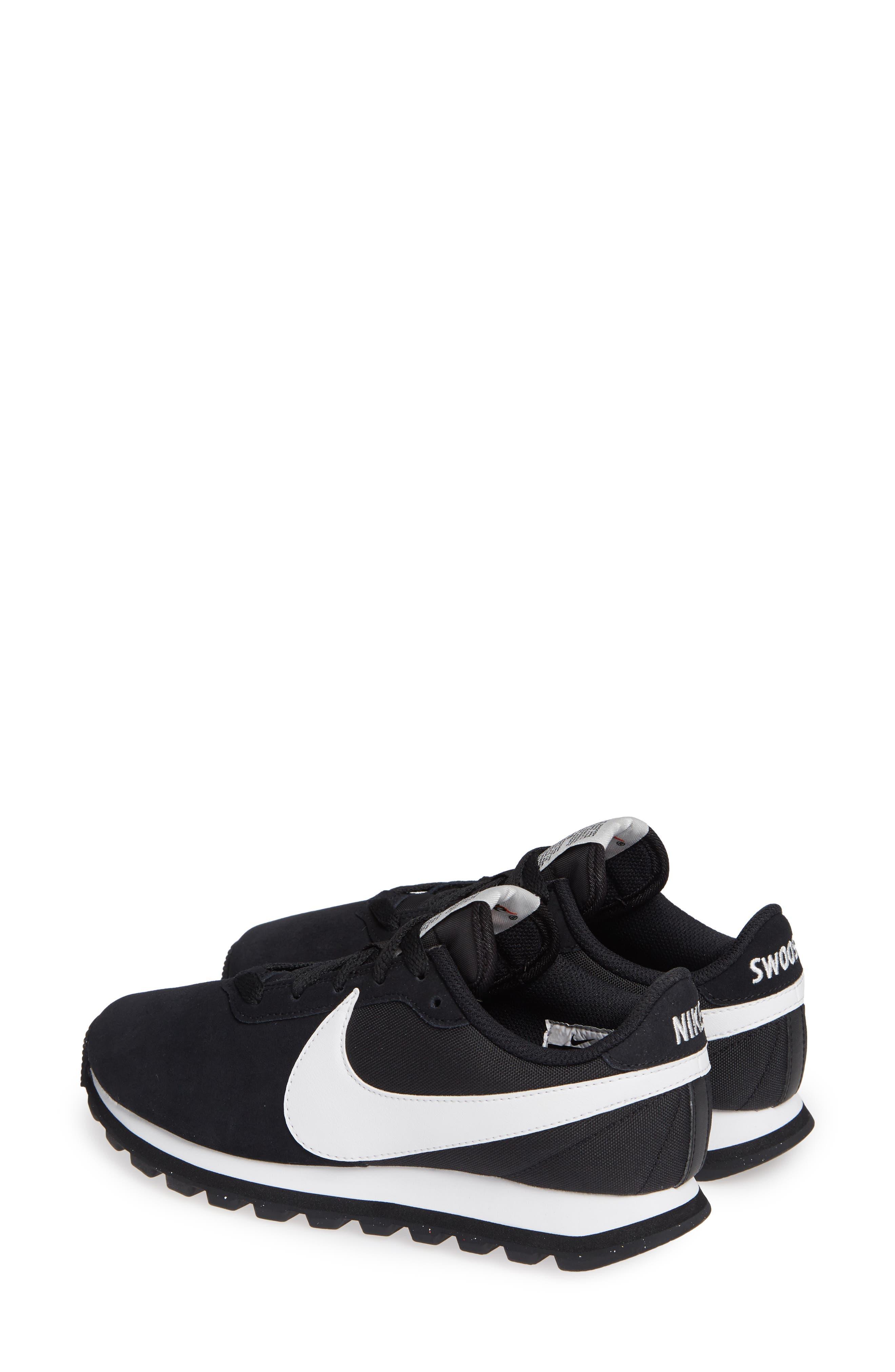 NIKE, Pre Love O.X. Sneaker, Alternate thumbnail 3, color, BLACK/ SUMMIT WHITE