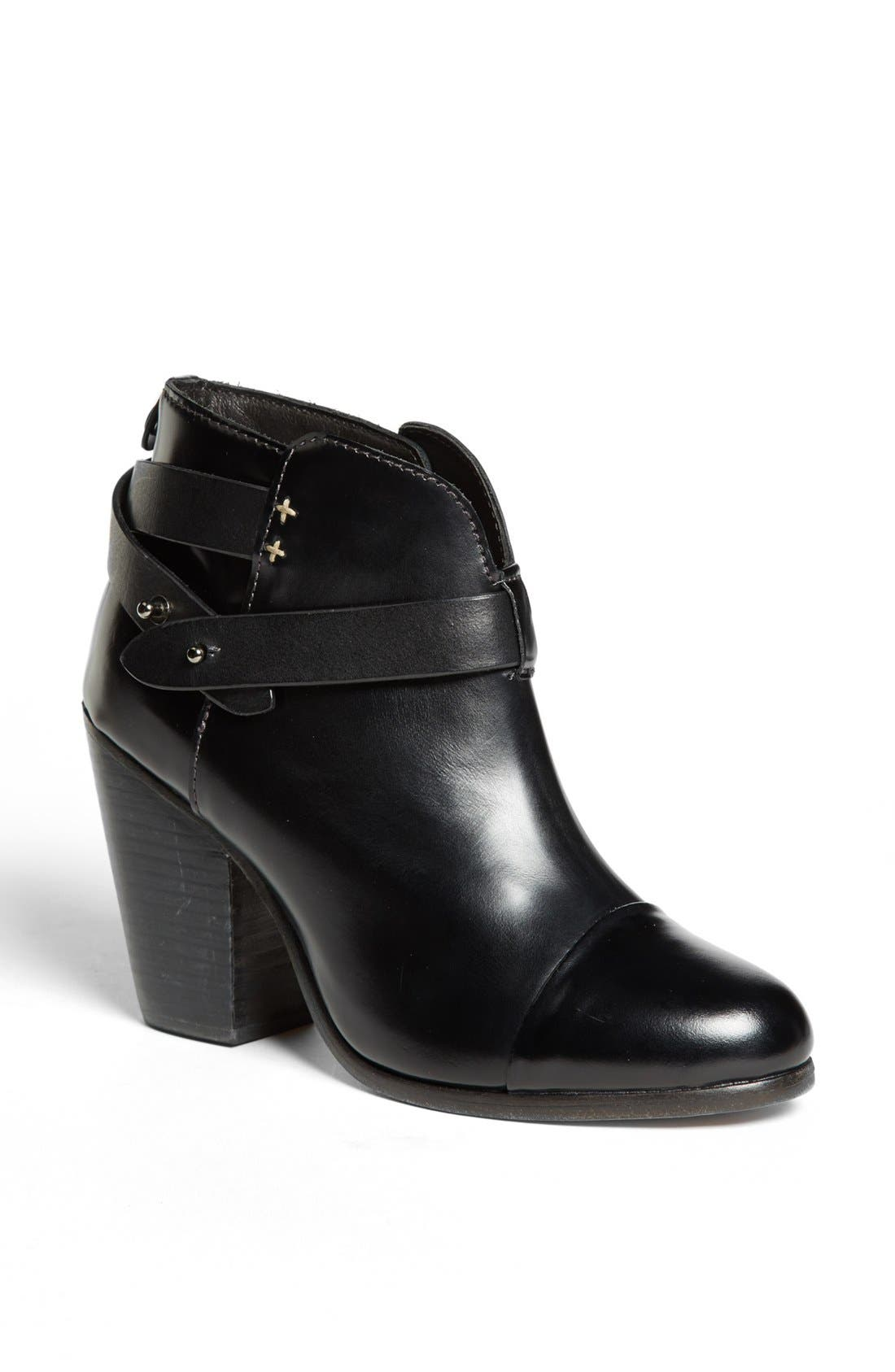 RAG & BONE, 'Harrow' Bootie, Main thumbnail 1, color, 001