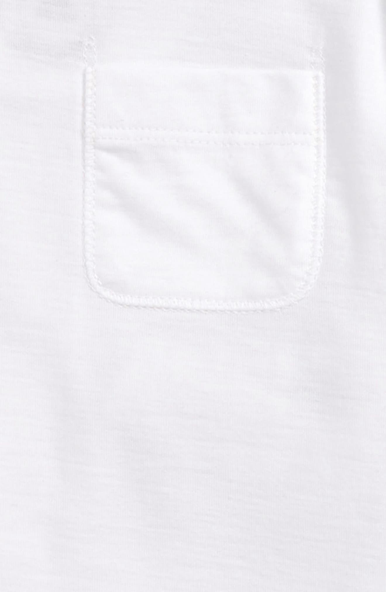 BURBERRY, Alby Bodysuit, Hat & Bib Set, Alternate thumbnail 2, color, WHITE
