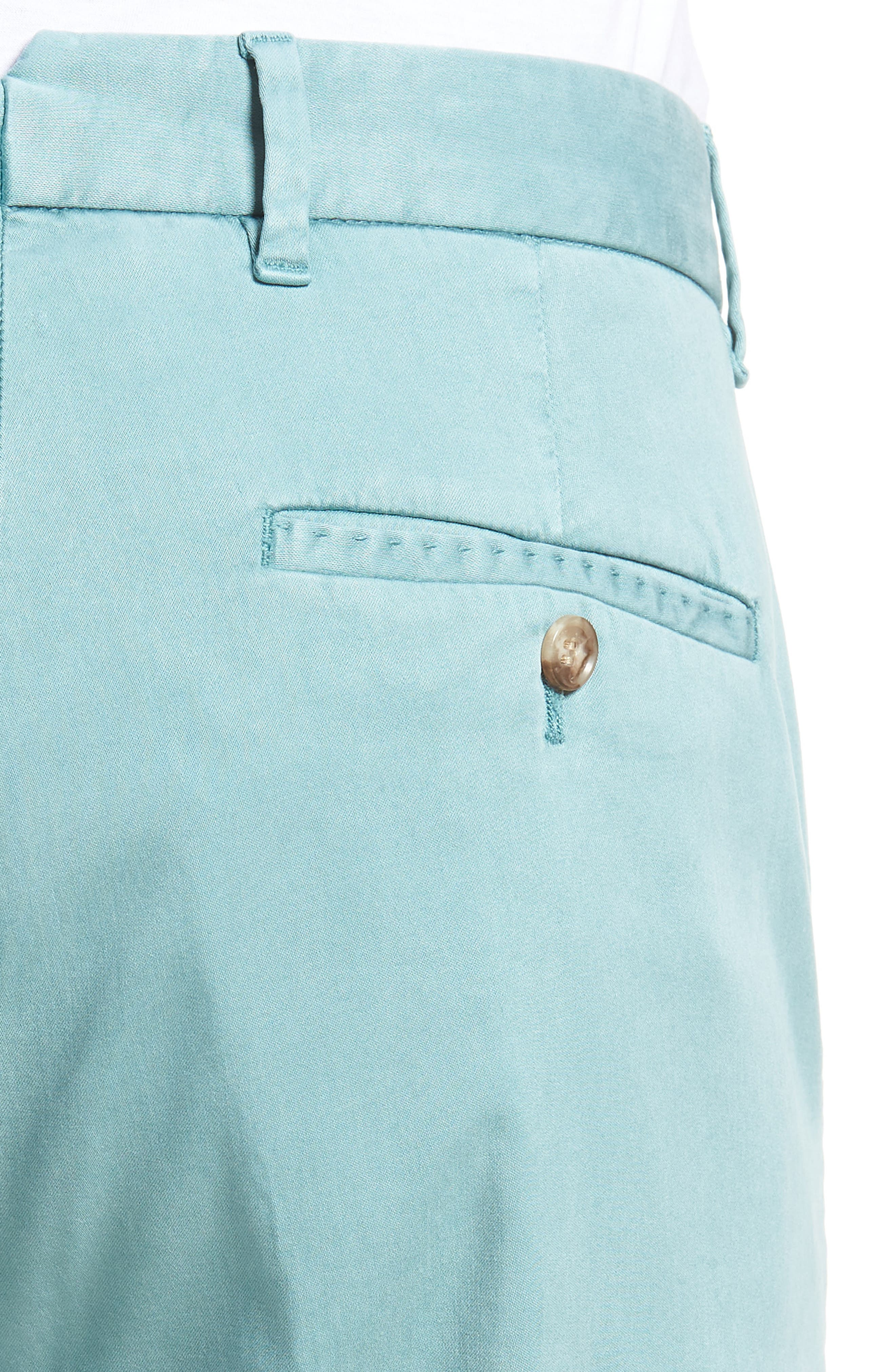 ZACHARY PRELL, Aster Straight Fit Pants, Alternate thumbnail 5, color, TEAL