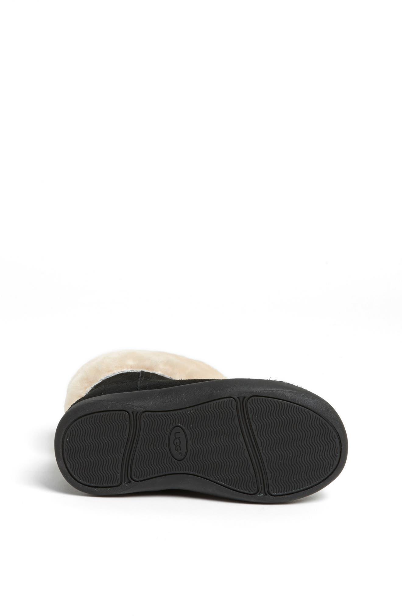 UGG<SUP>®</SUP>, Jorie II Boot, Alternate thumbnail 4, color, BLACK/ BLACK