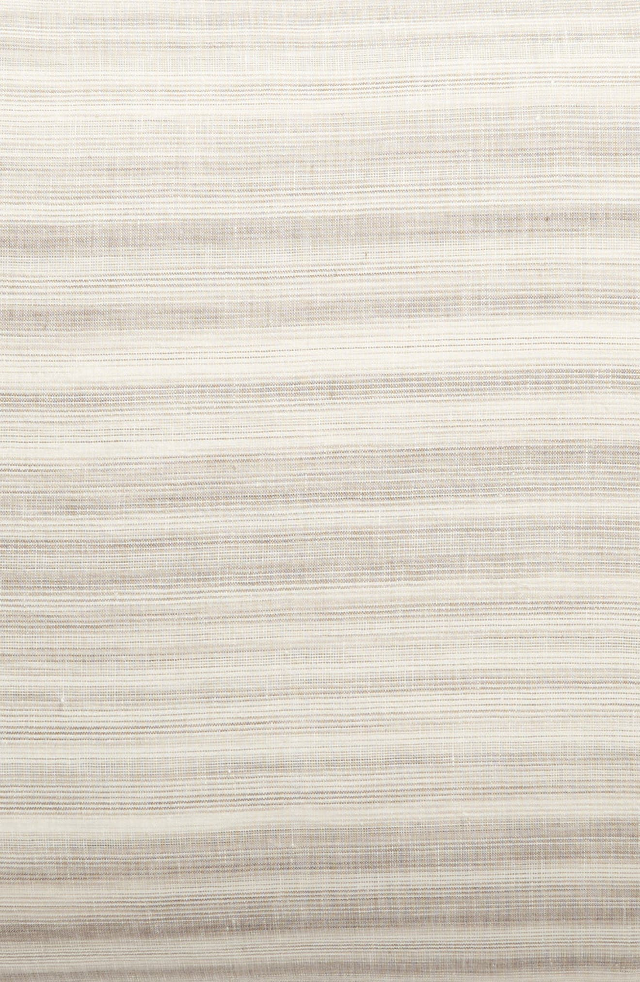 TREASURE & BOND, Space Dyed Stripe Sham, Alternate thumbnail 3, color, GREY OWL MULTI