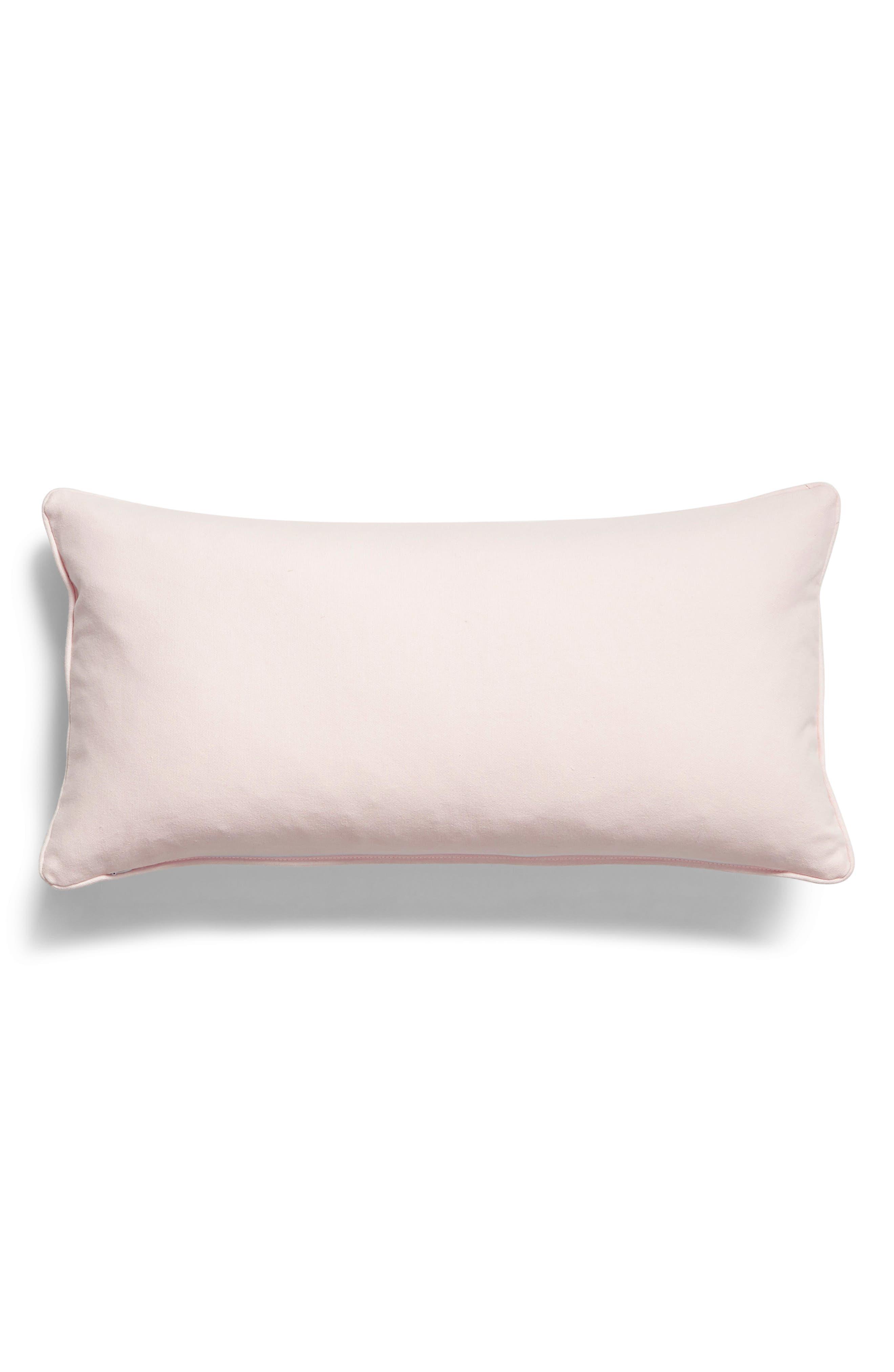 LEVTEX, Sequin Bunnies Accent Pillow, Alternate thumbnail 2, color, 650