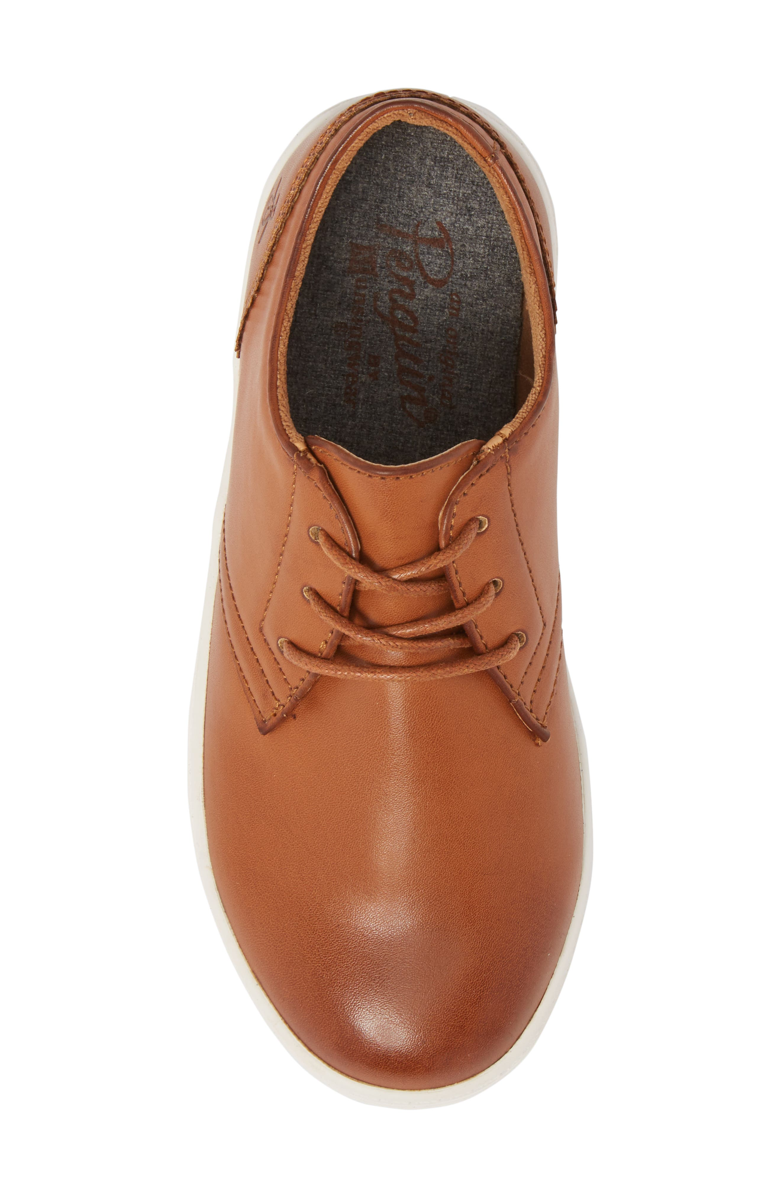 ORIGINAL PENGUIN, Freeland Sneaker, Alternate thumbnail 5, color, COGNAC
