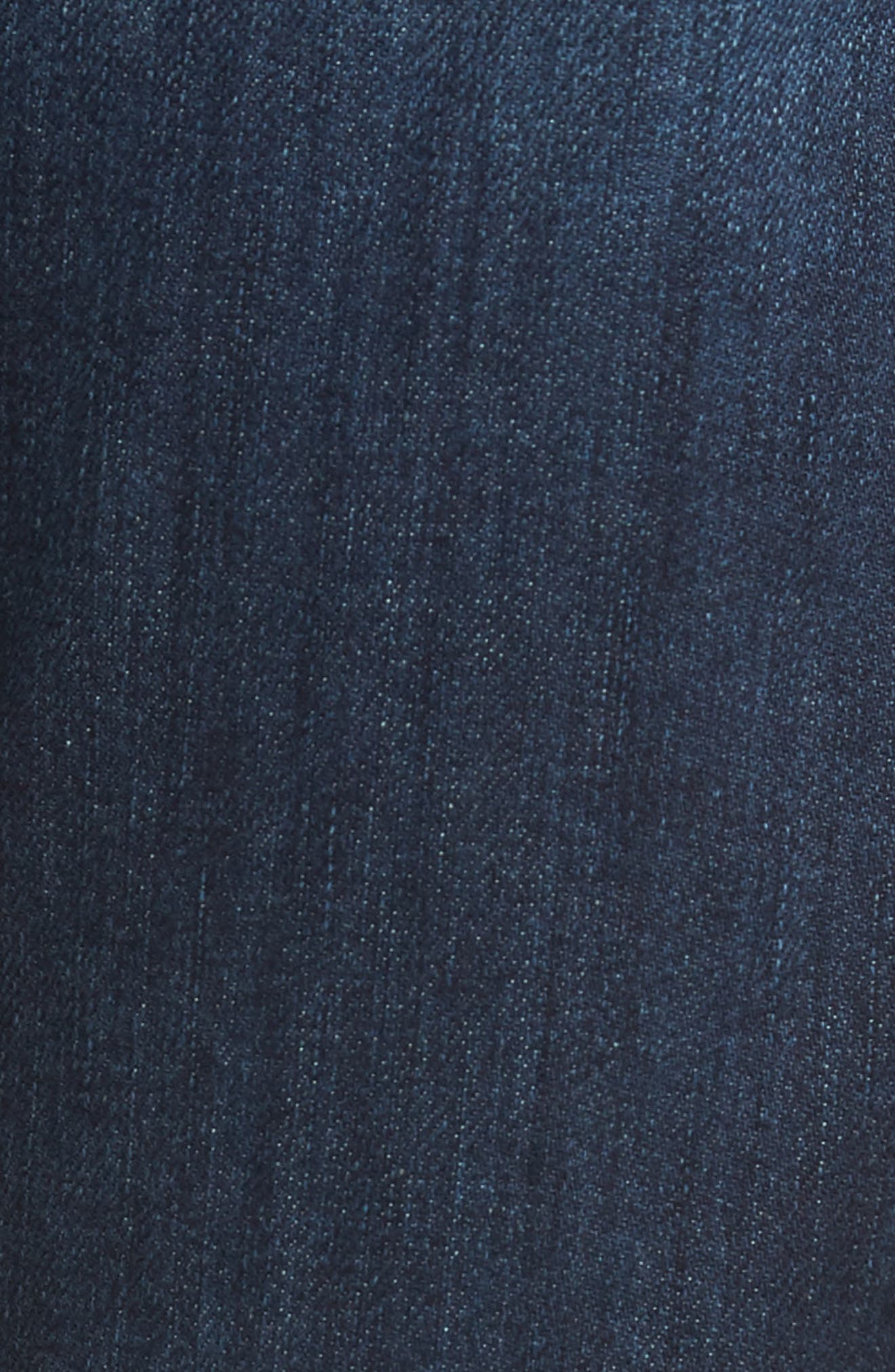 7 FOR ALL MANKIND<SUP>®</SUP>, Luxe Standard Straight Leg Jeans, Alternate thumbnail 5, color, 414
