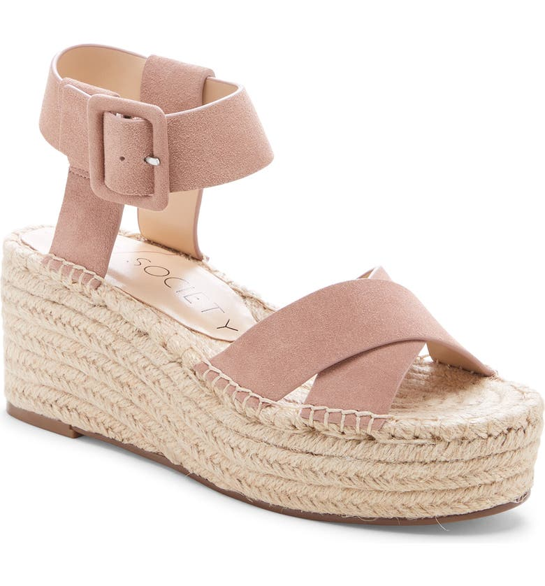 7de0107014c Sole Society Audrina Platform Espadrille Sandal (Women)