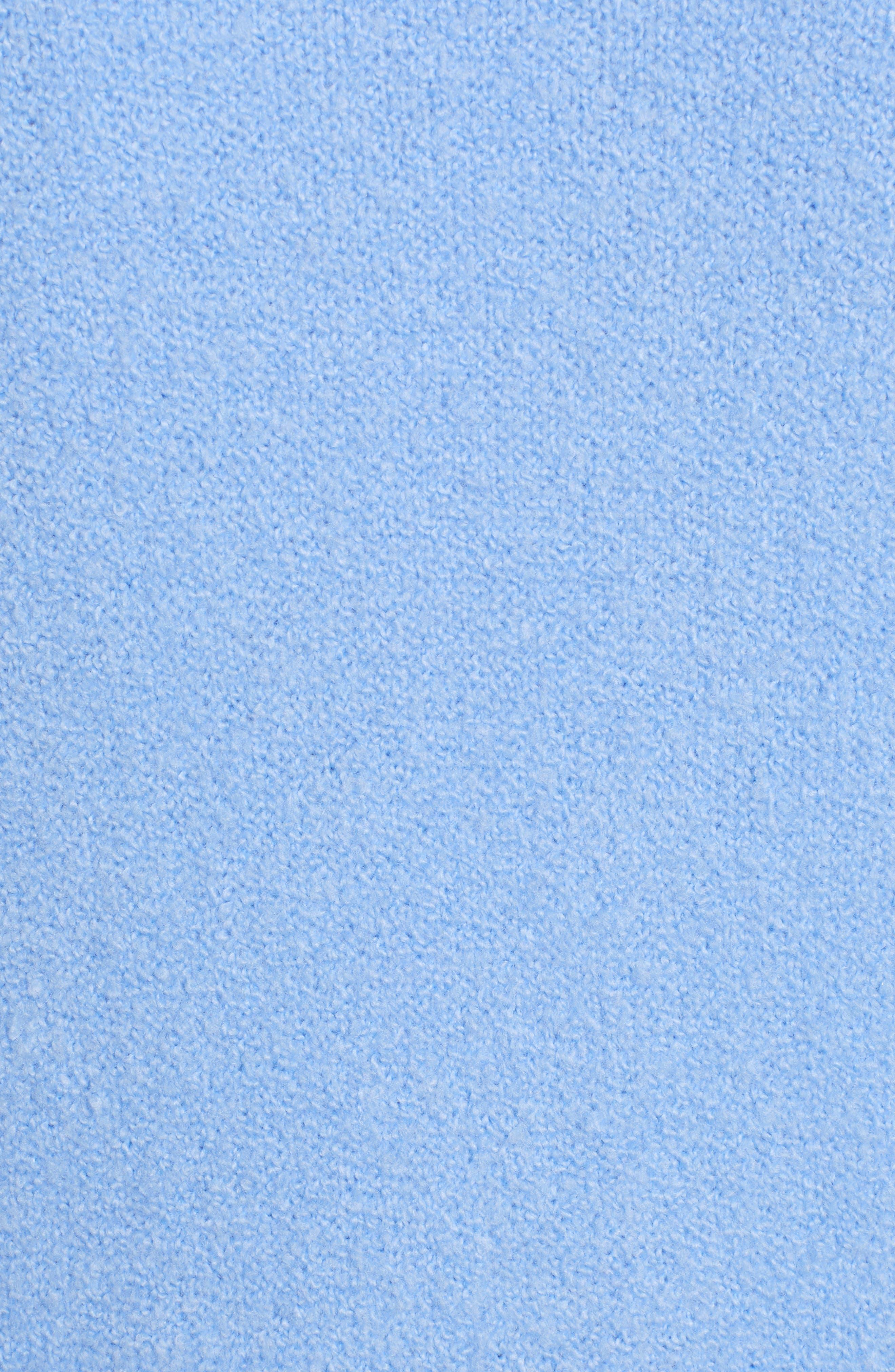HALOGEN<SUP>®</SUP>, Long Open Front Cardigan, Alternate thumbnail 5, color, BLUE CORNFLOWER