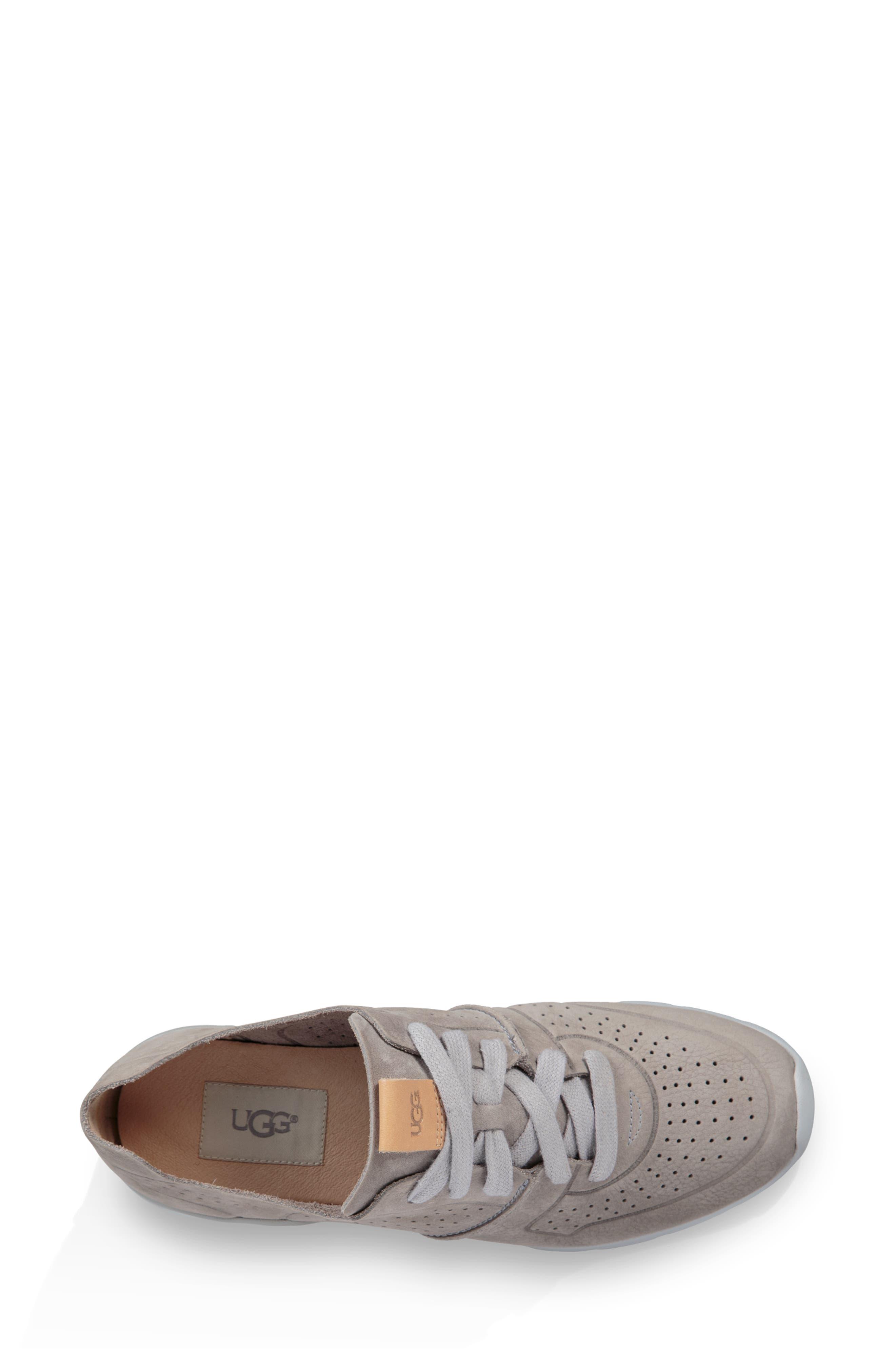 UGG<SUP>®</SUP>, Tye Sneaker, Alternate thumbnail 4, color, 024