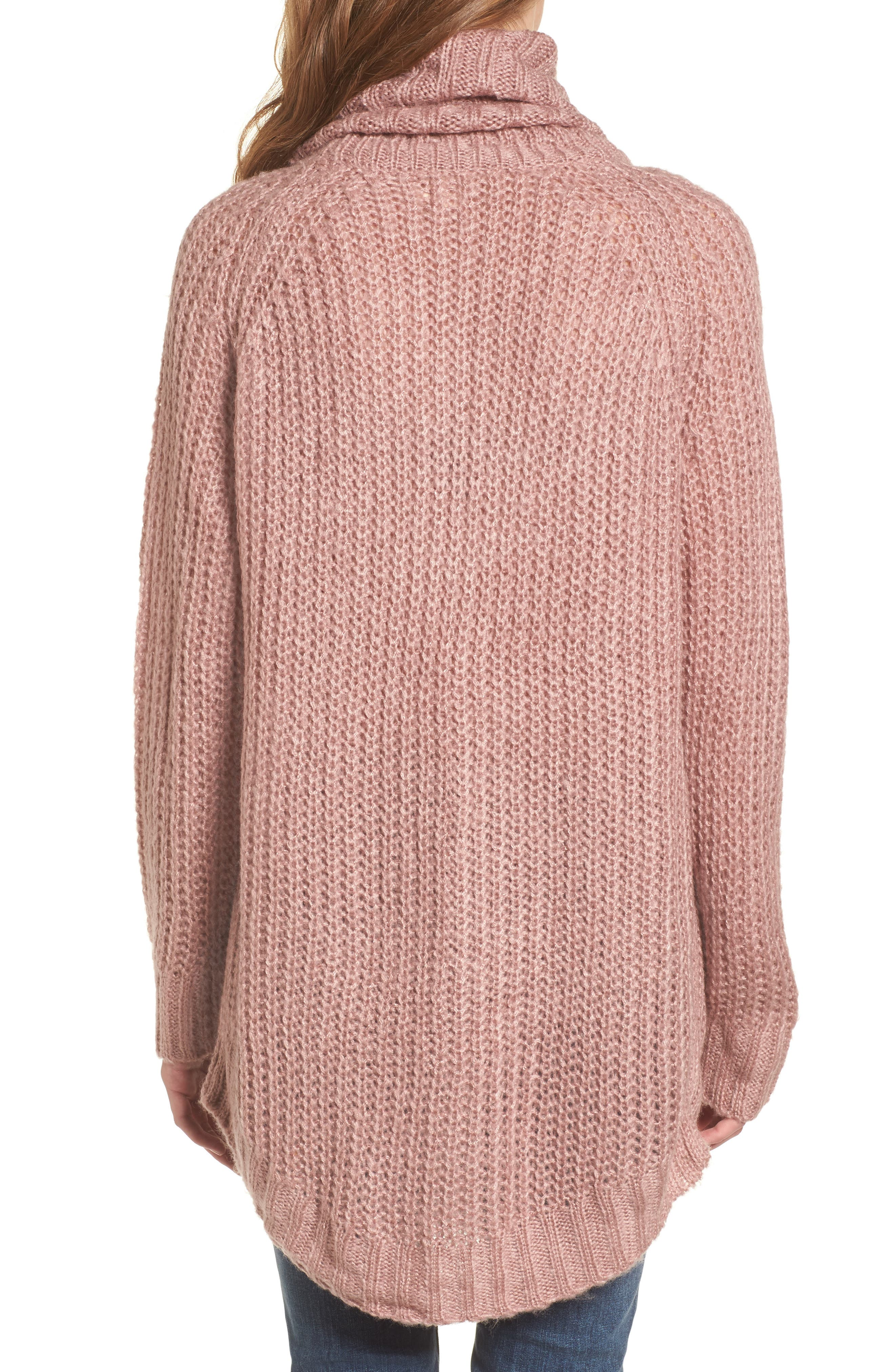 DREAMERS BY DEBUT, Cowl Neck Sweater, Alternate thumbnail 2, color, 680
