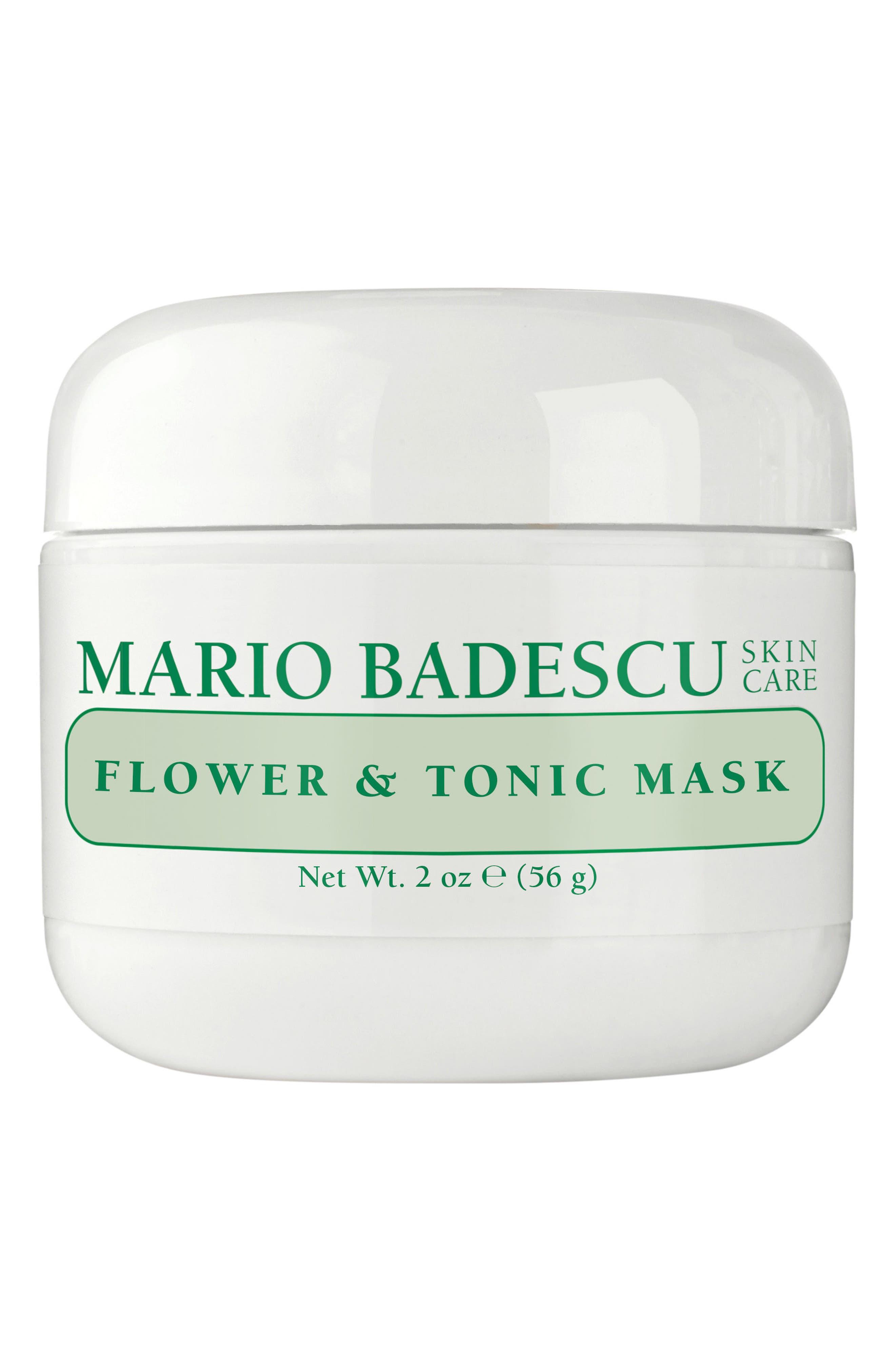 MARIO BADESCU Flower & Tonic Mask, Main, color, NO COLOR