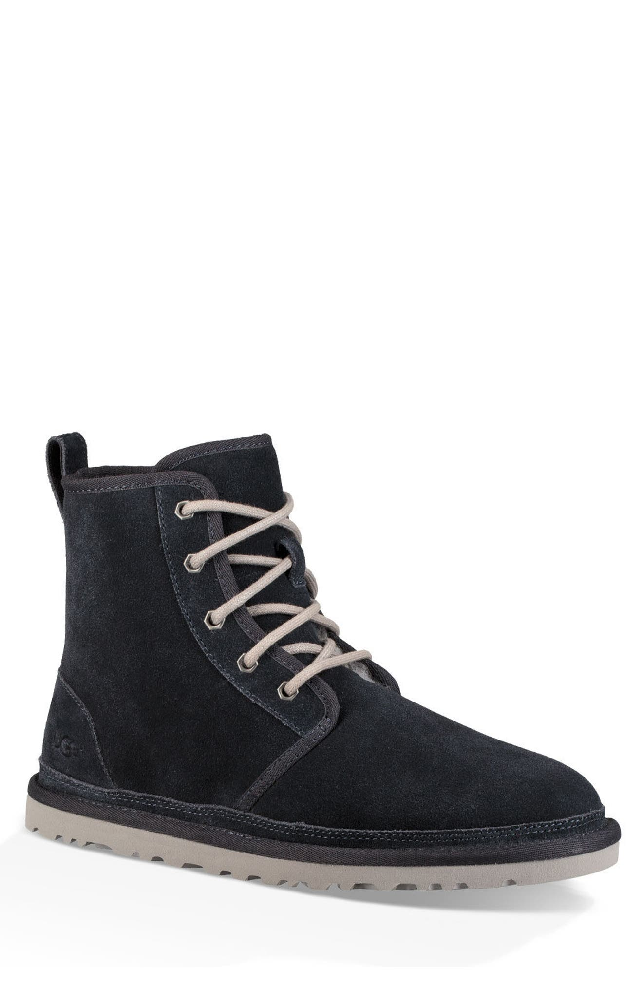 Ugg Harkley Lace-Up Boot, Blue