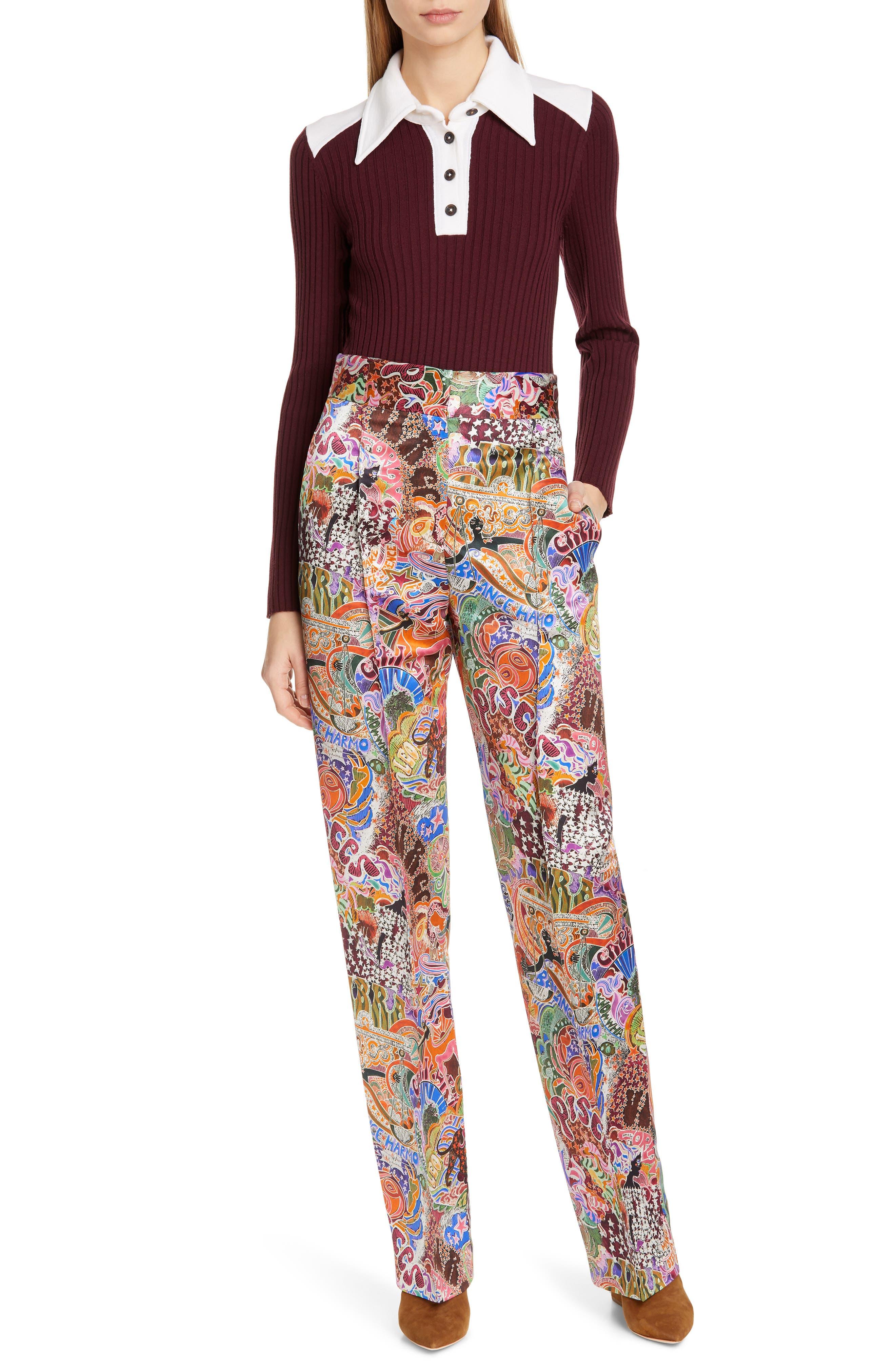 TOMMY X ZENDAYA, Belted Denim Skirt, Alternate thumbnail 7, color, 402