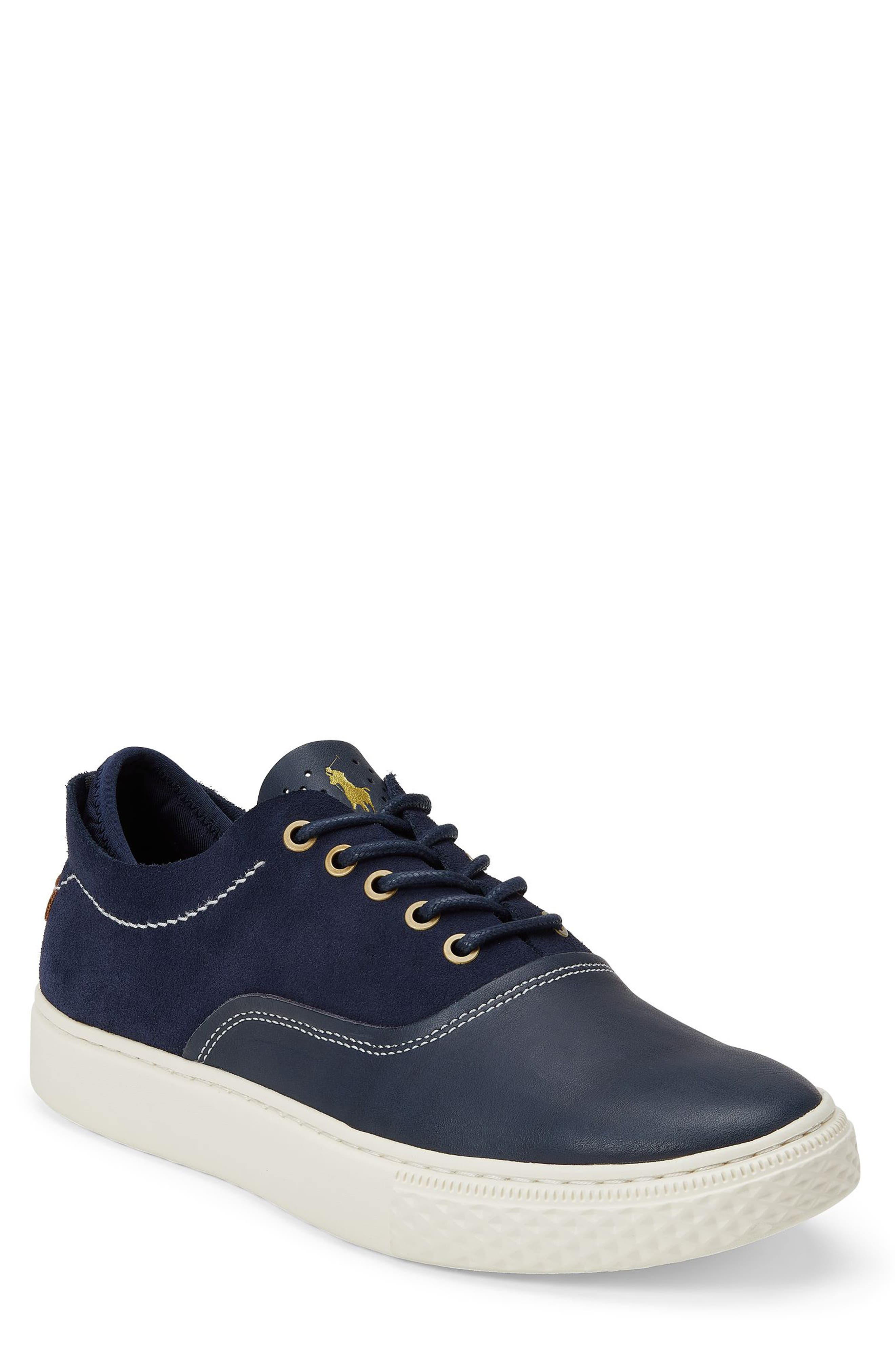 POLO RALPH LAUREN Thorton 100 Sneaker, Main, color, 410