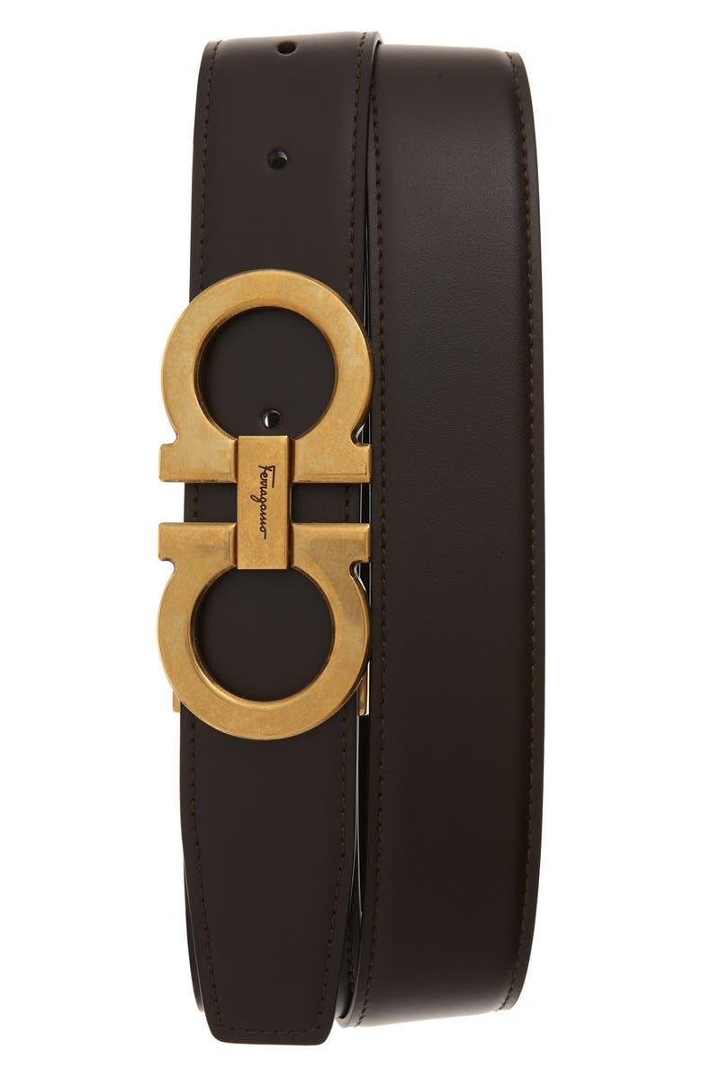 Salvatore Ferragamo Leather Belt | Nordstrom