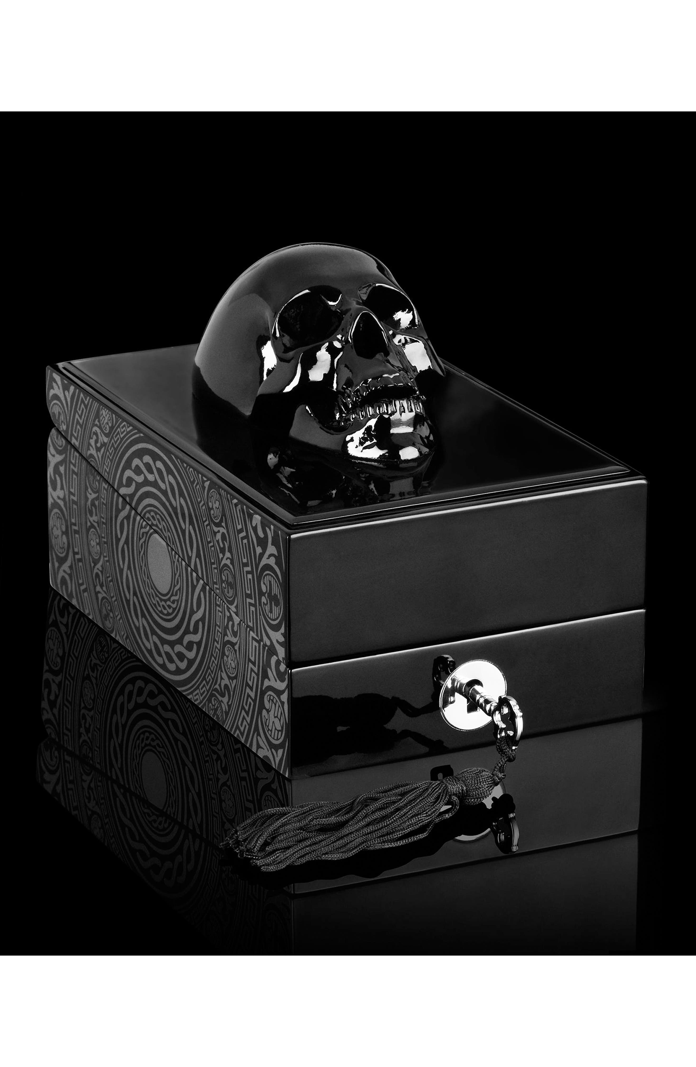 KILIAN, Black Phantom Memento Mori Eau de Parfum Refillable Spray, Alternate thumbnail 4, color, NO COLOR