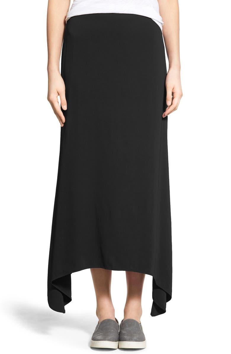 88a5039c828 JAMES PERSE Stretch Crepe Maxi Skirt, Main, color, 001